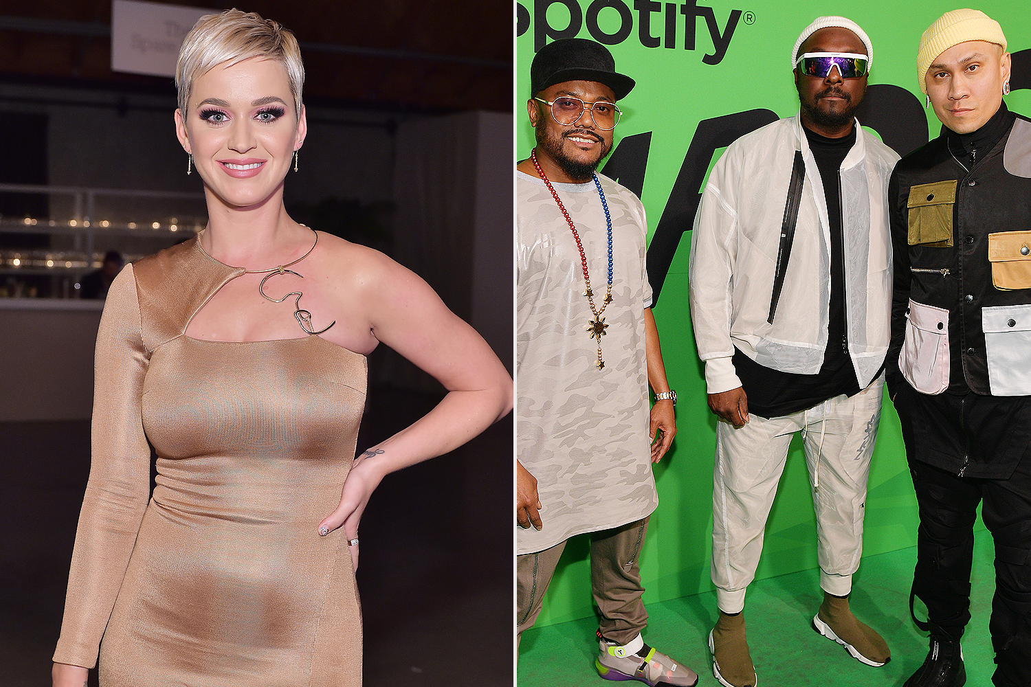Katy Perry, Black Eyed Peas