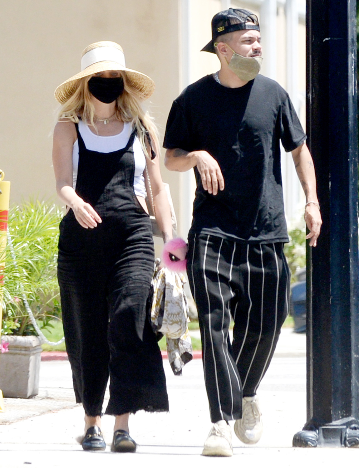 Ashlee Simpson is Spotted Out With Husband Evan Ross in Los Angeles.