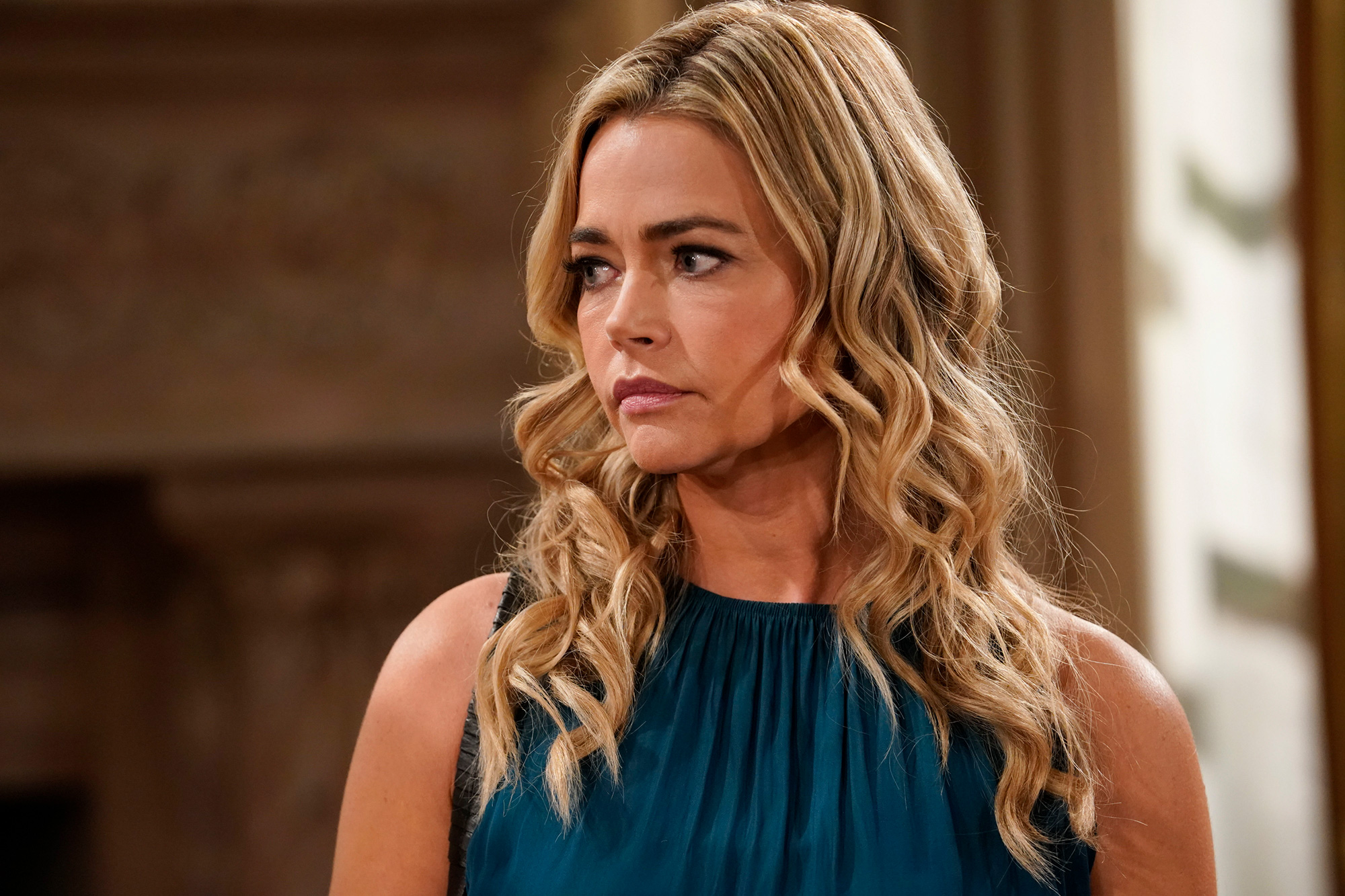 THE BOLD AND THE BEAUTIFUL, scheduled to air on the CBS Television Network April 15th, 2019. Pictured: Denise Richards