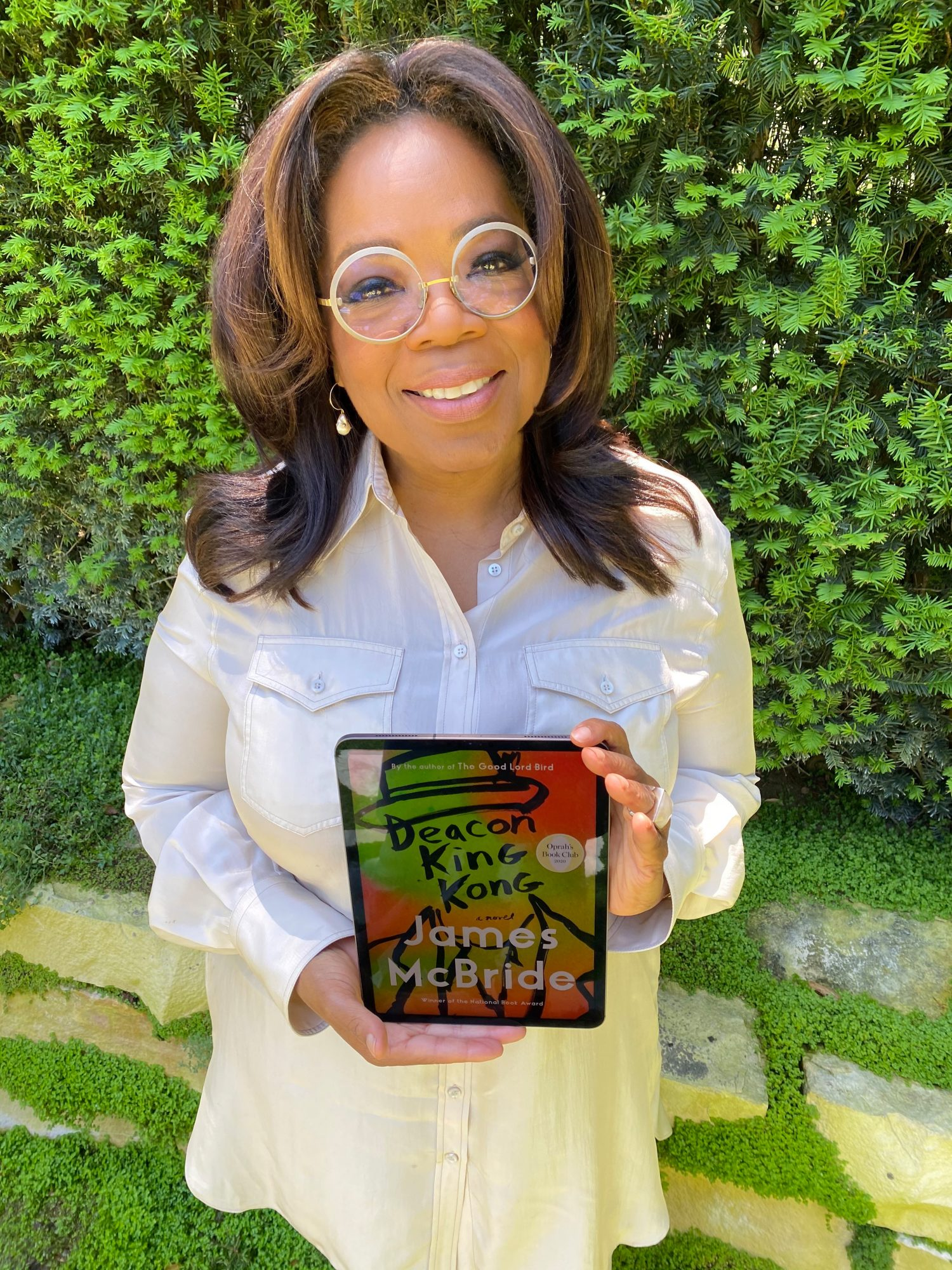 Oprah Winfrey Announces Deacon King Kong as Her Next Book Club Pick
