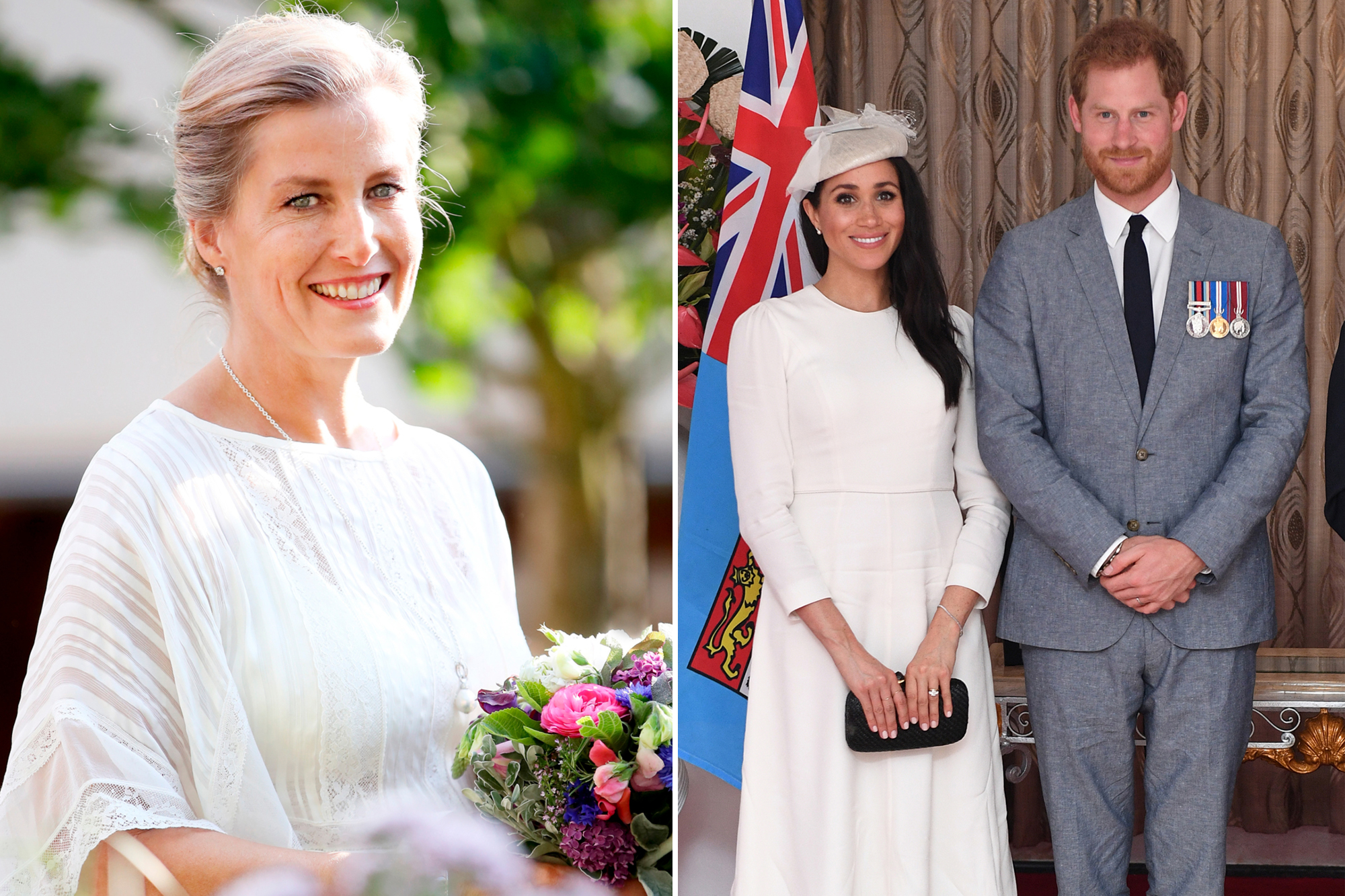 sophie wessex, meghan and harry