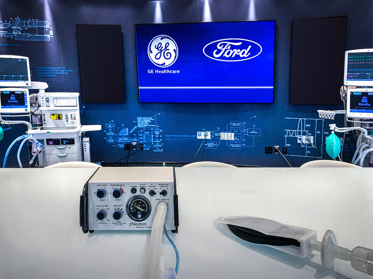 ford making ventilators