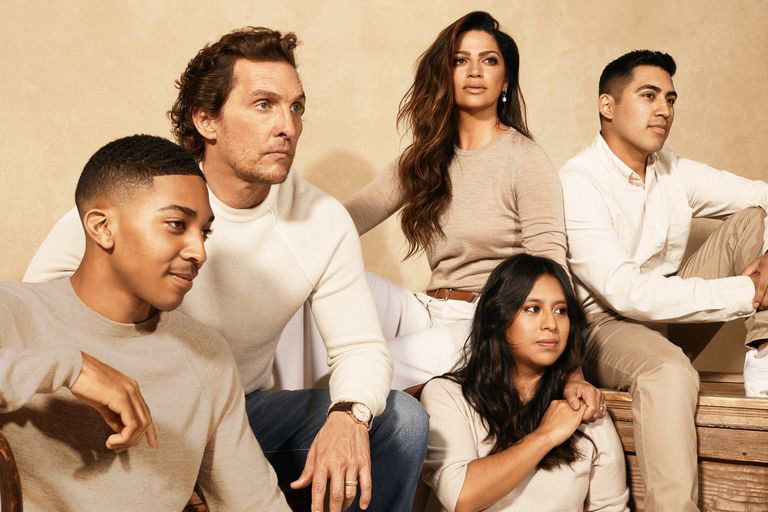Matthew McConaughey Town & Country