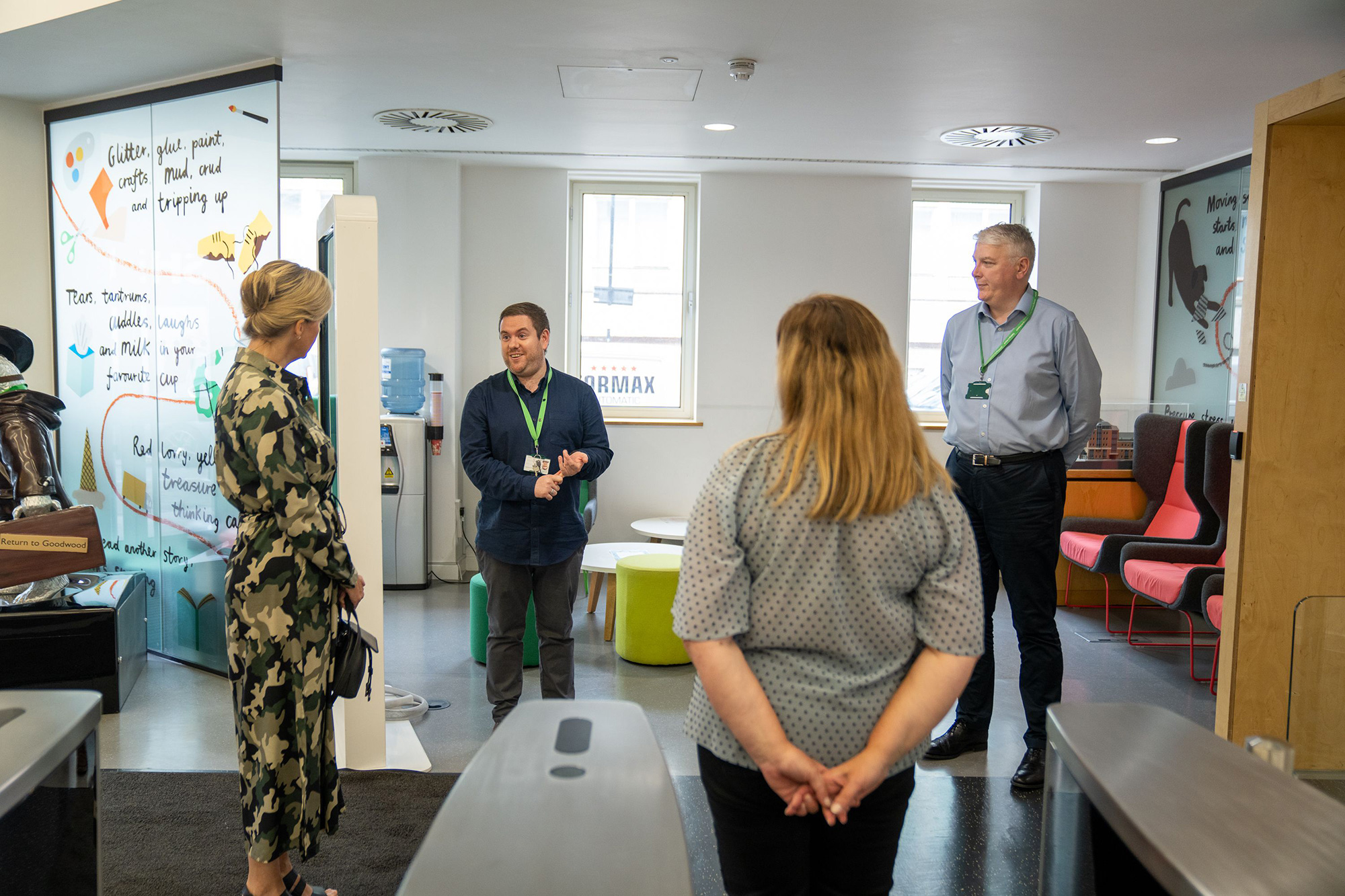 Sophie Countess of Wessex joins a counselling shift at Childline, NSPCC HQ, London, UK - 17 Jun 2020