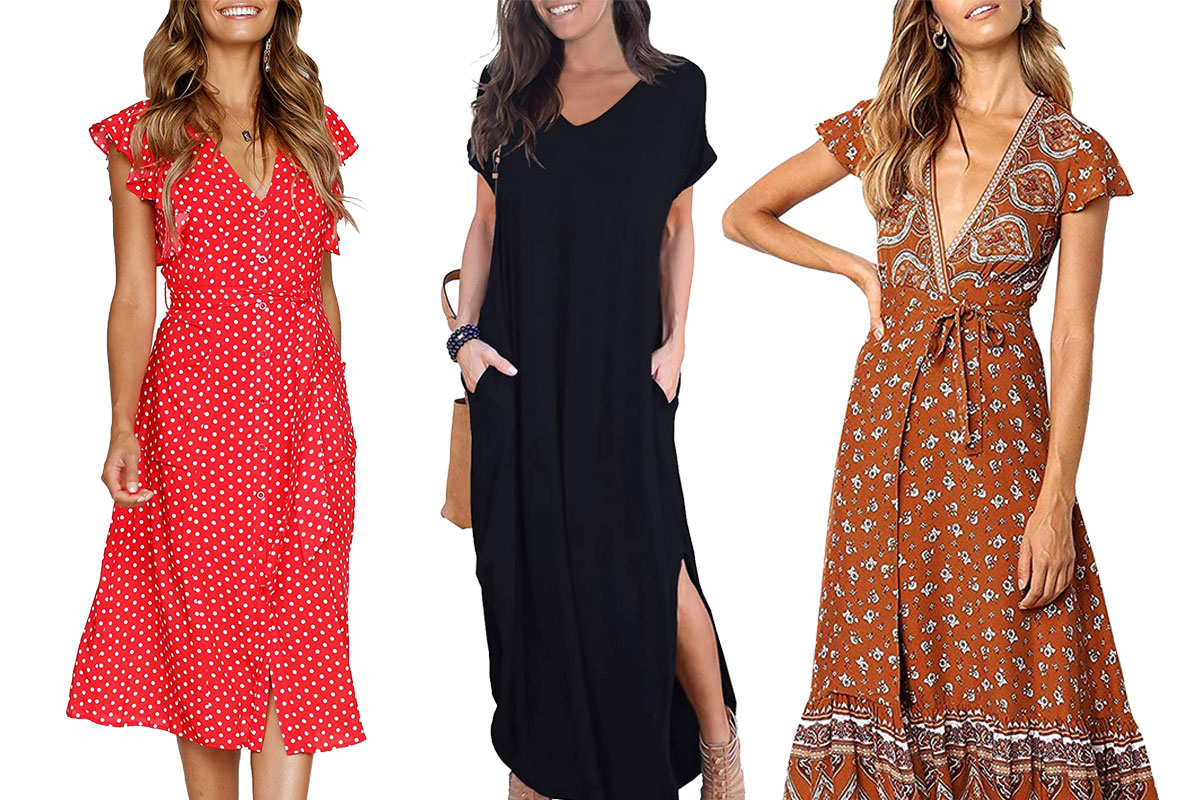 amazon customers most loved women casual dresses