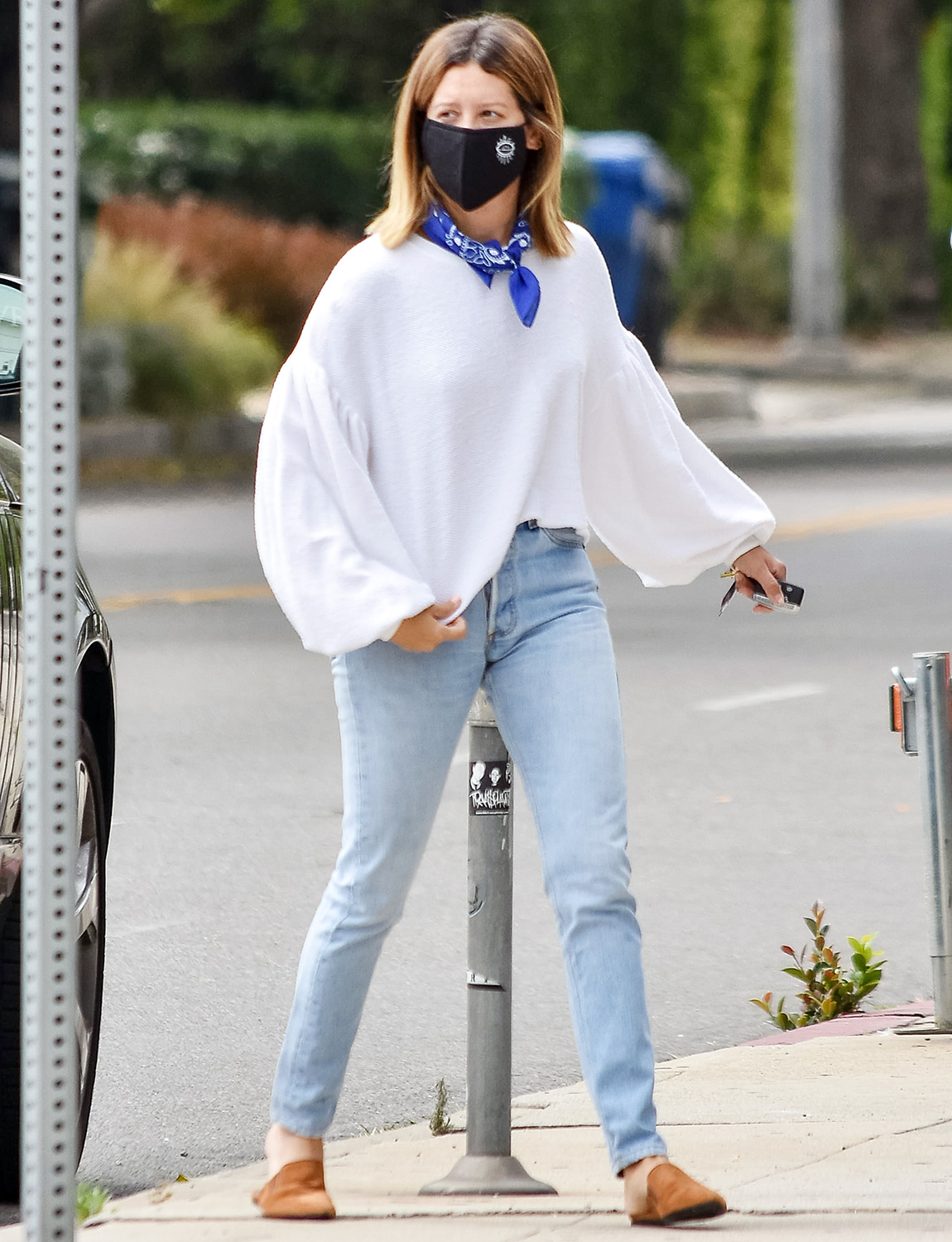 Ashley Tisdale out and about, Los Angeles, USA - 17 Jun 2020