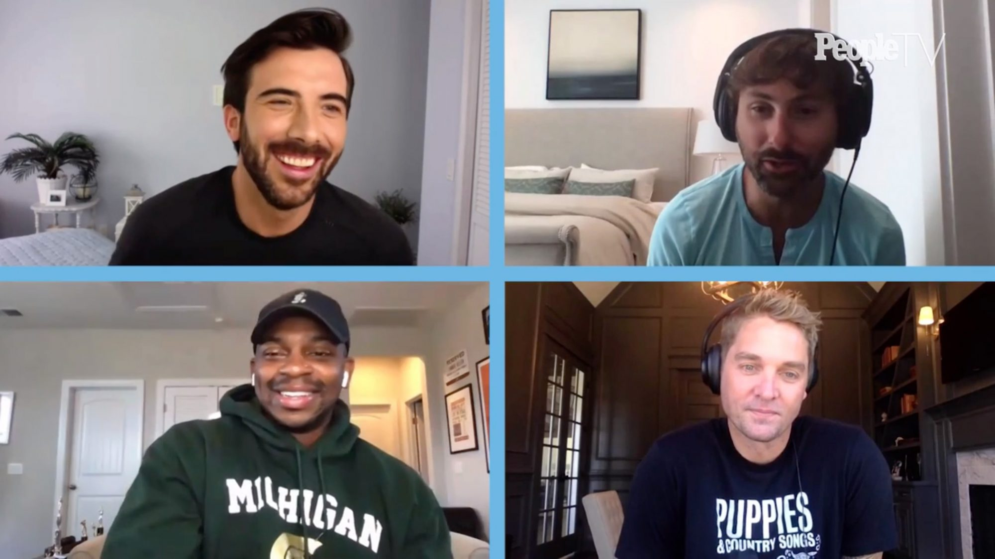 Jimmie Allen, Brett Young and Dave Haywood Joke About Their Sex Lives After Kids