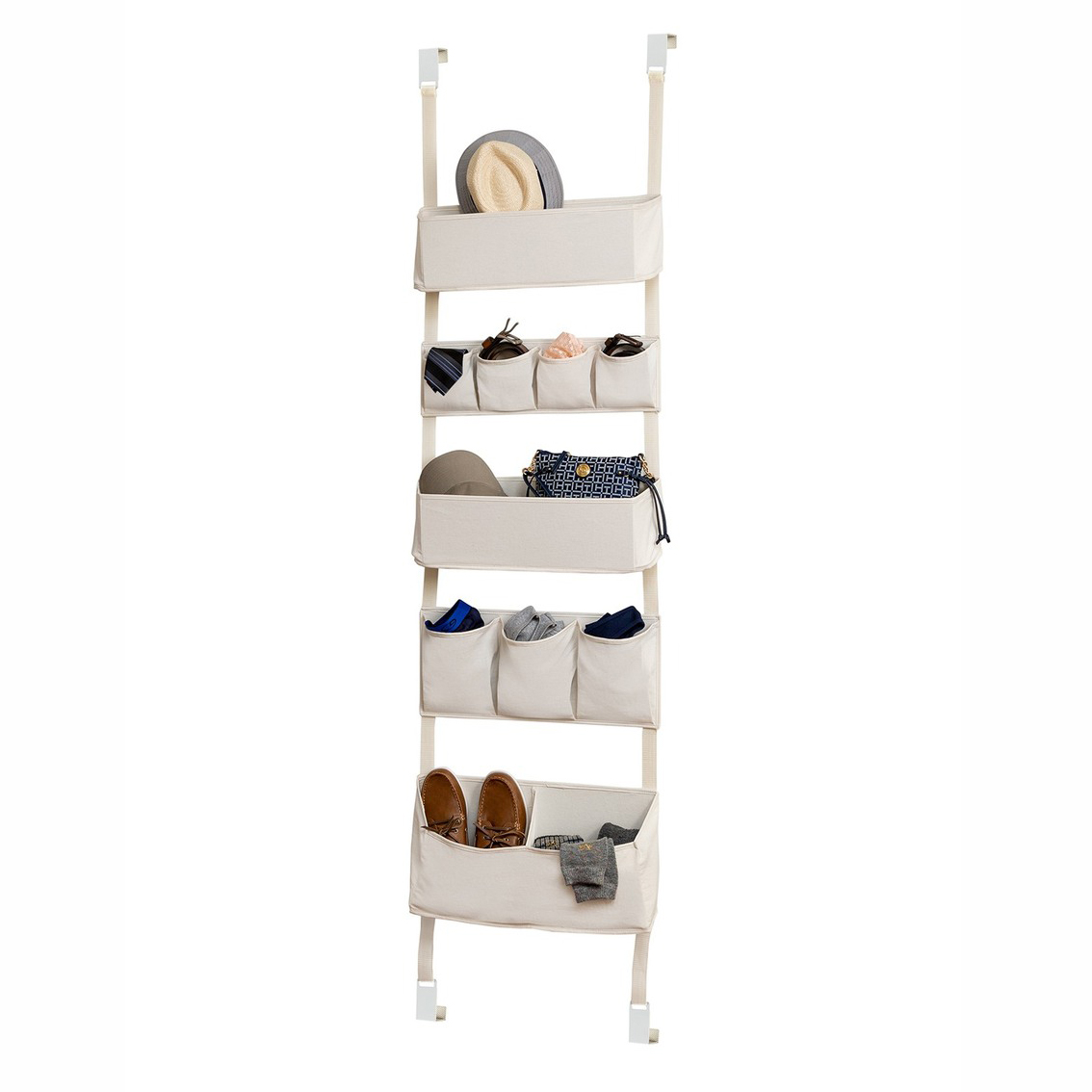 Honey-Can-Do Over-the-Door Hanging Organizer