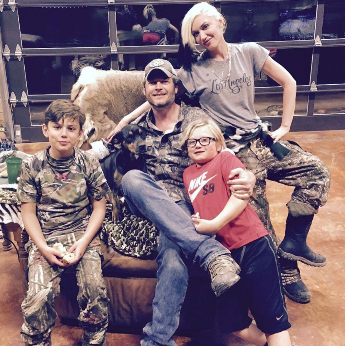 Blake Shelton 'Having A Blast Being Stuck At Home' With