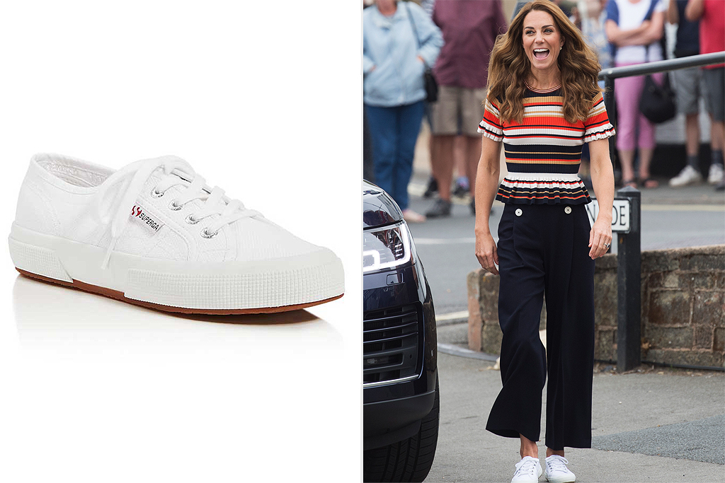 Kate Middleton superga sneakers amazon sale