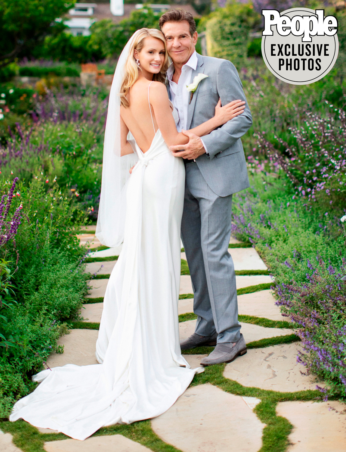 dennis quaid and laura savoie wedding
