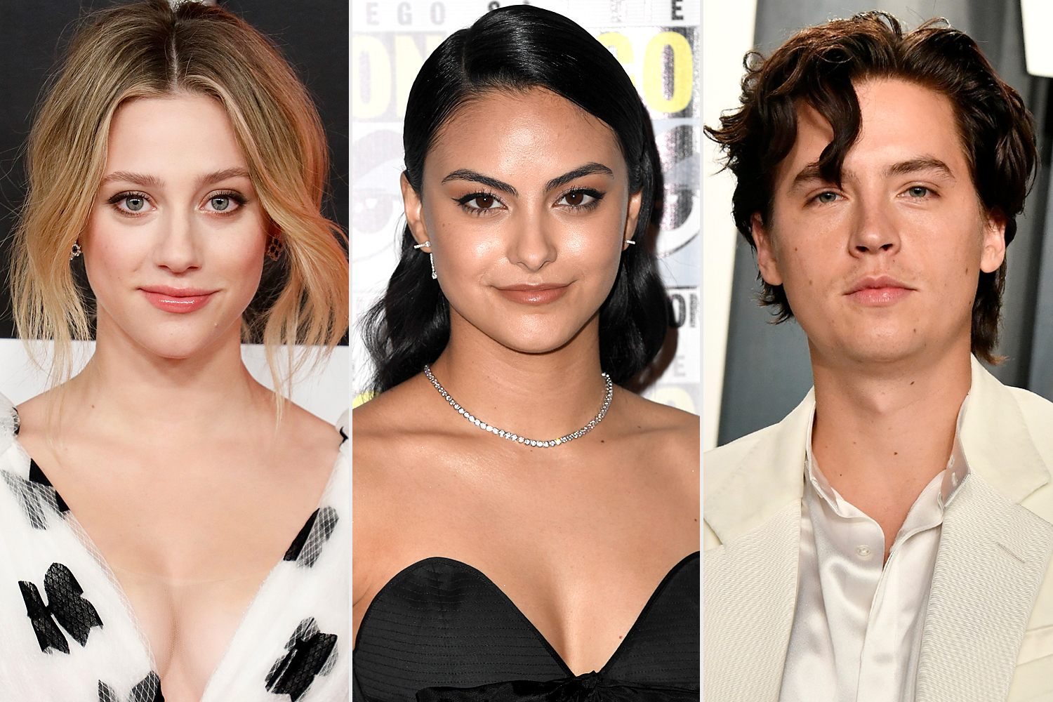 Lili Reinhart; Camila Mendes; Cole Sprouse