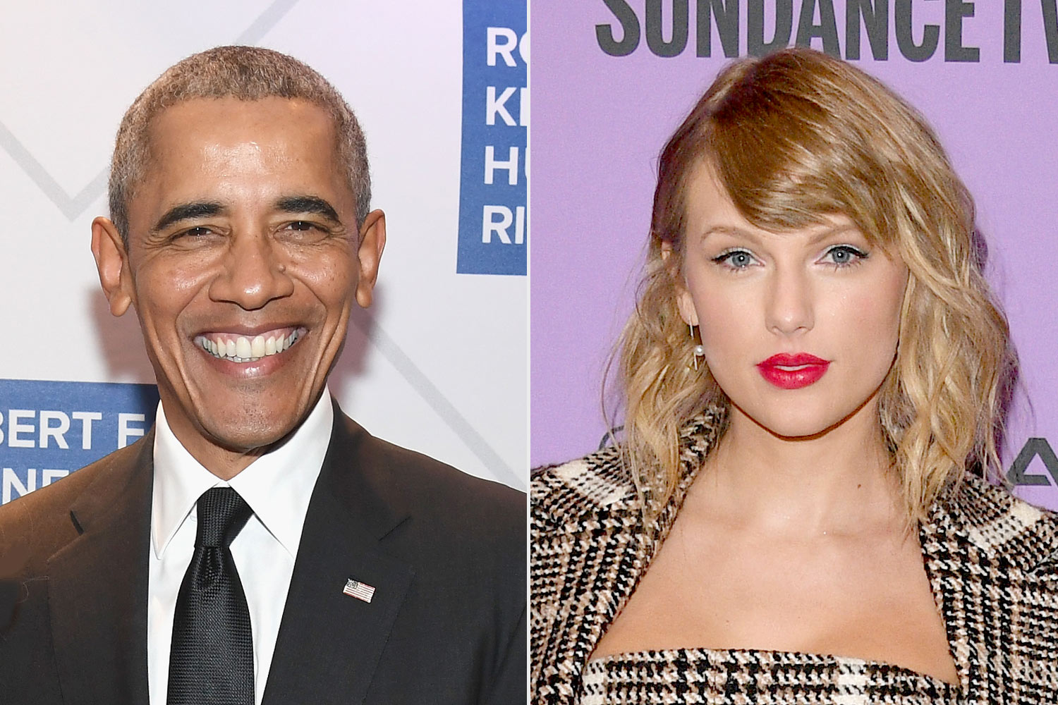Barack Obama and Taylor swift