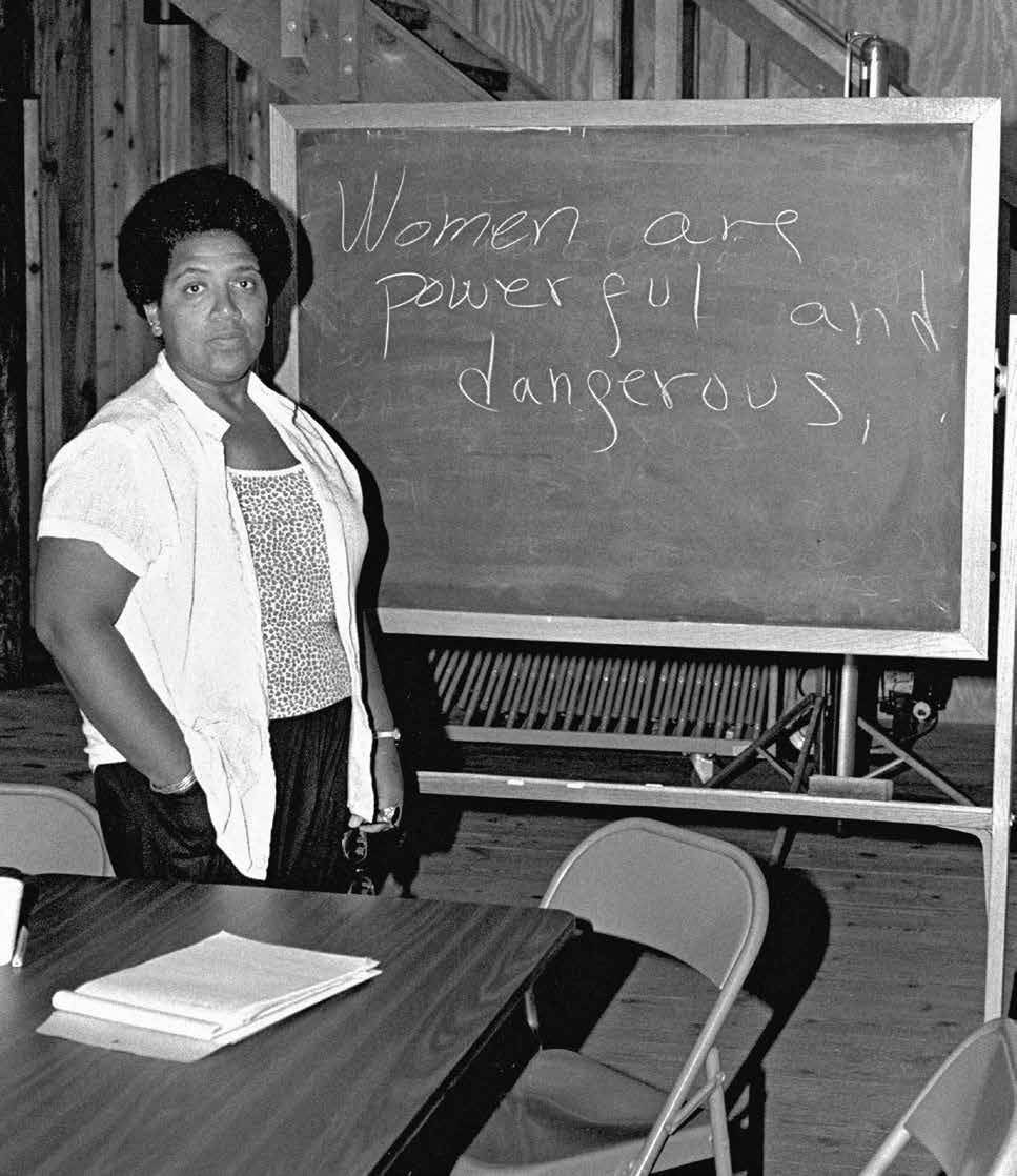 Audre Lorde Schools on Injustice