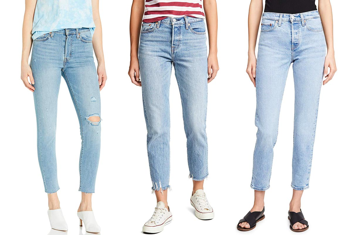 levis wedgie jeans amazon sale