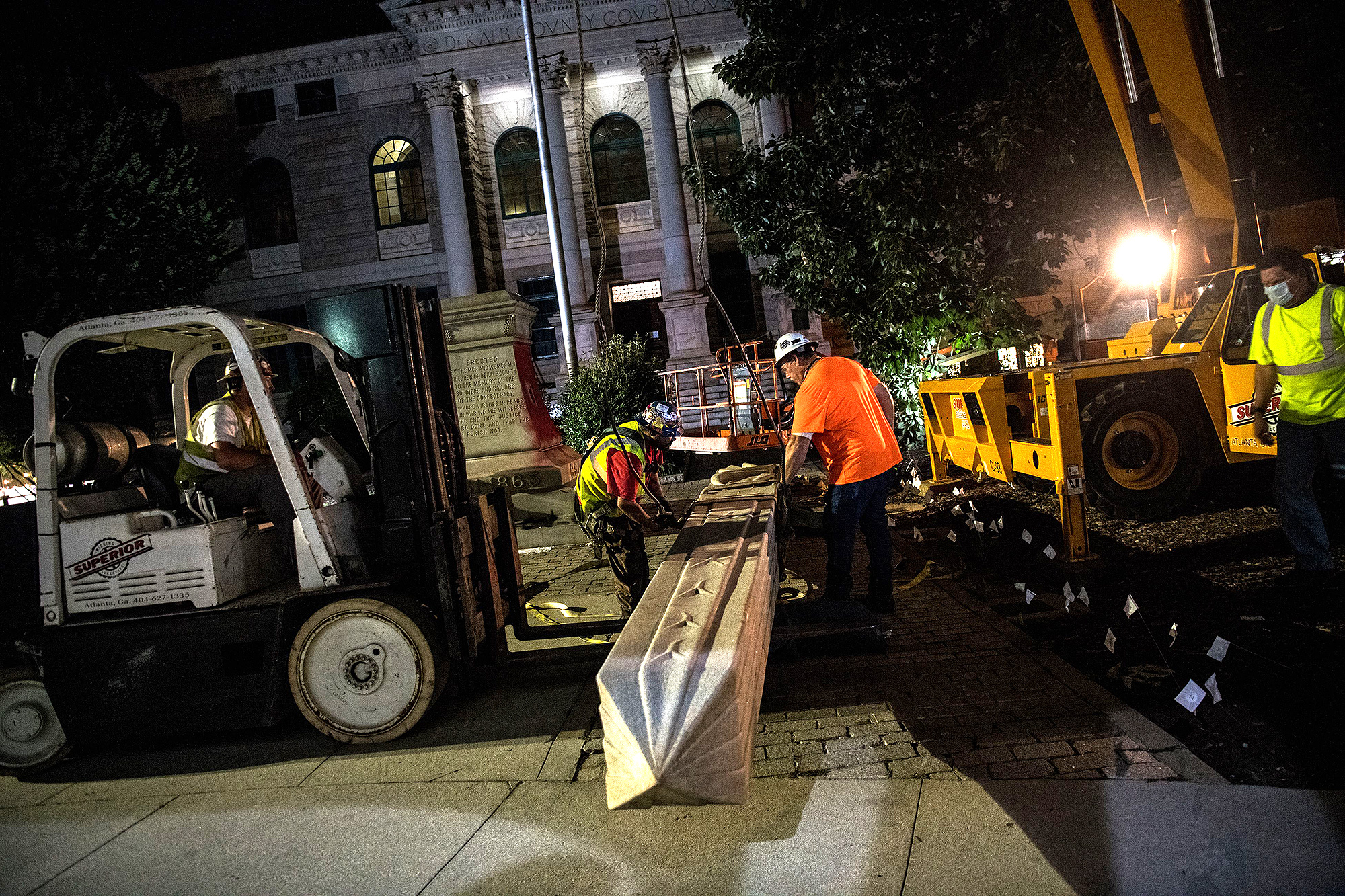 Confederate Statues Being Taken Down