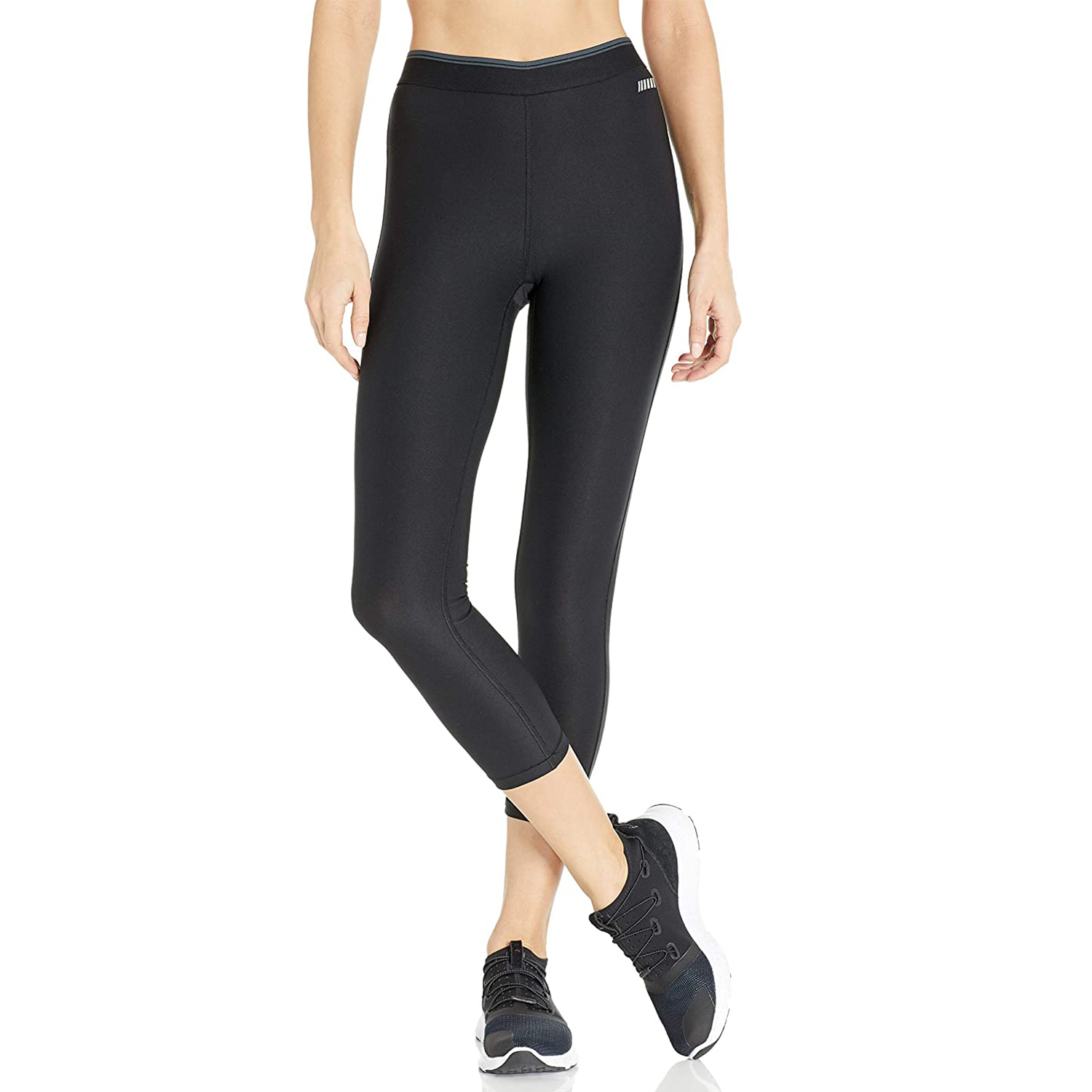 Amazon Essentials Elastic Waist Performance Capri Legging