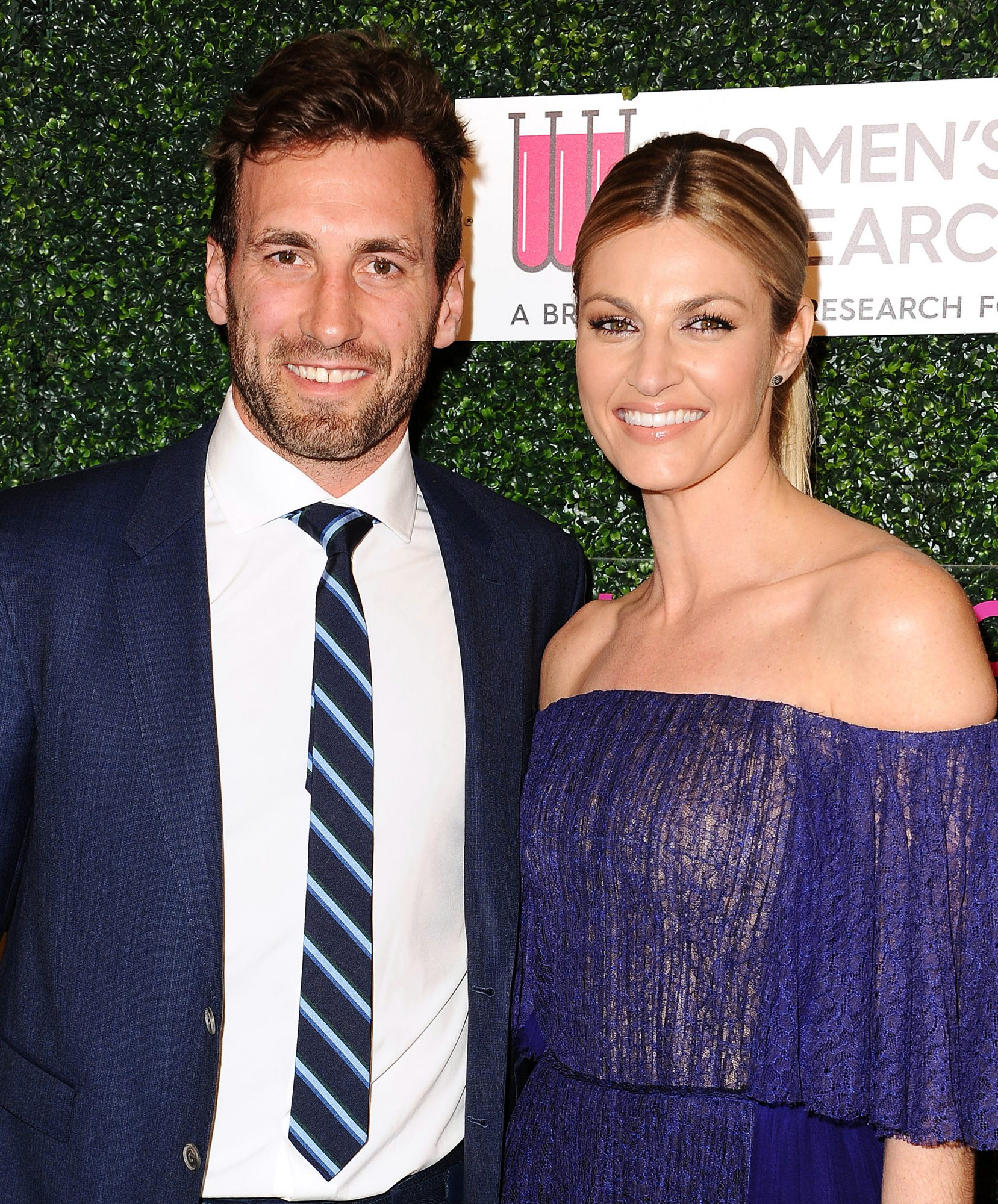 BEVERLY HILLS, CA - FEBRUARY 16: Jarret Stoll and Erin Andrews attend An Unforgettable Evening at the Beverly Wilshire Four Seasons Hotel on February 16, 2017 in Beverly Hills, California.
