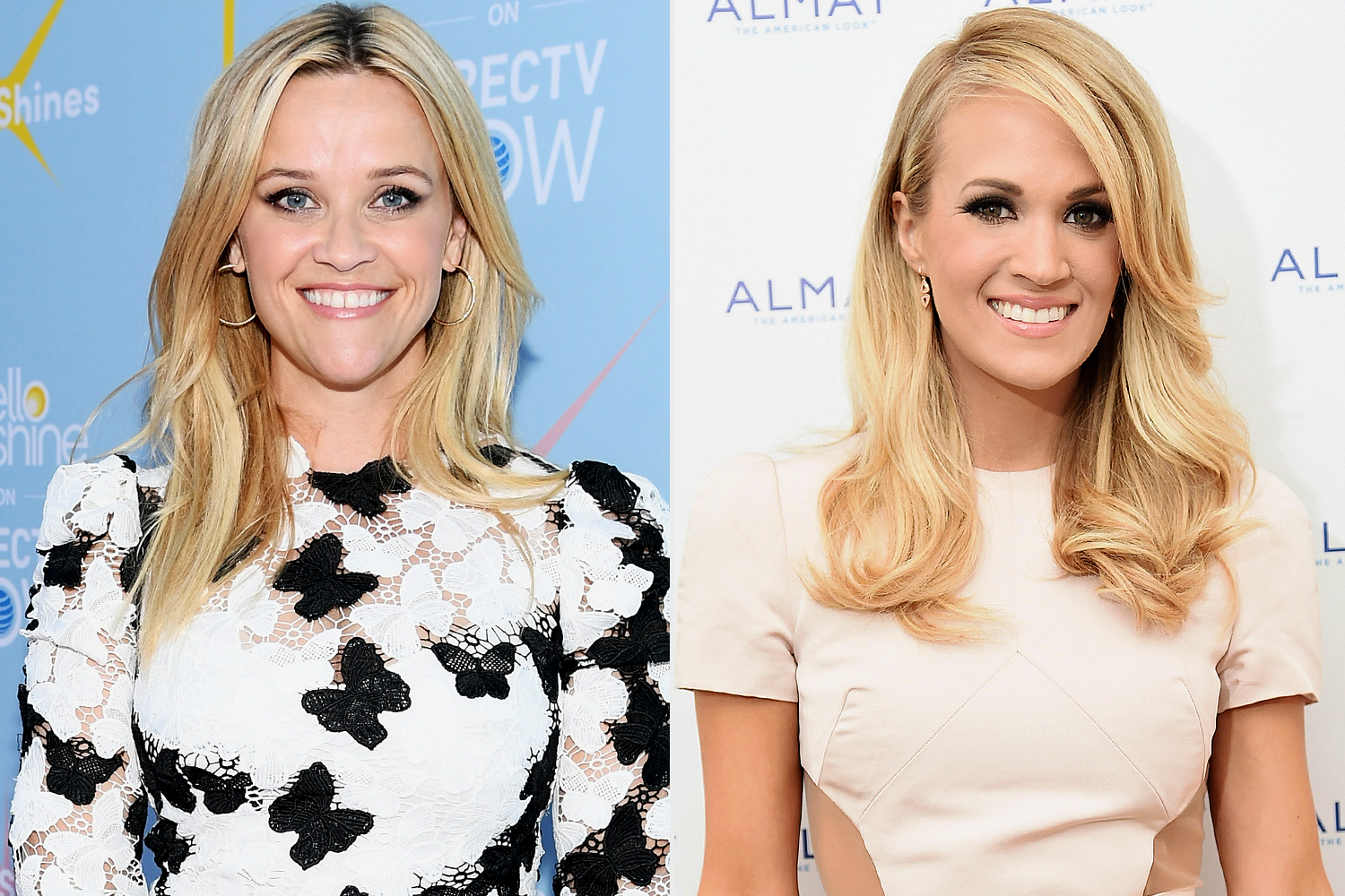 Reese Witherspoon ; Carrie Underwood
