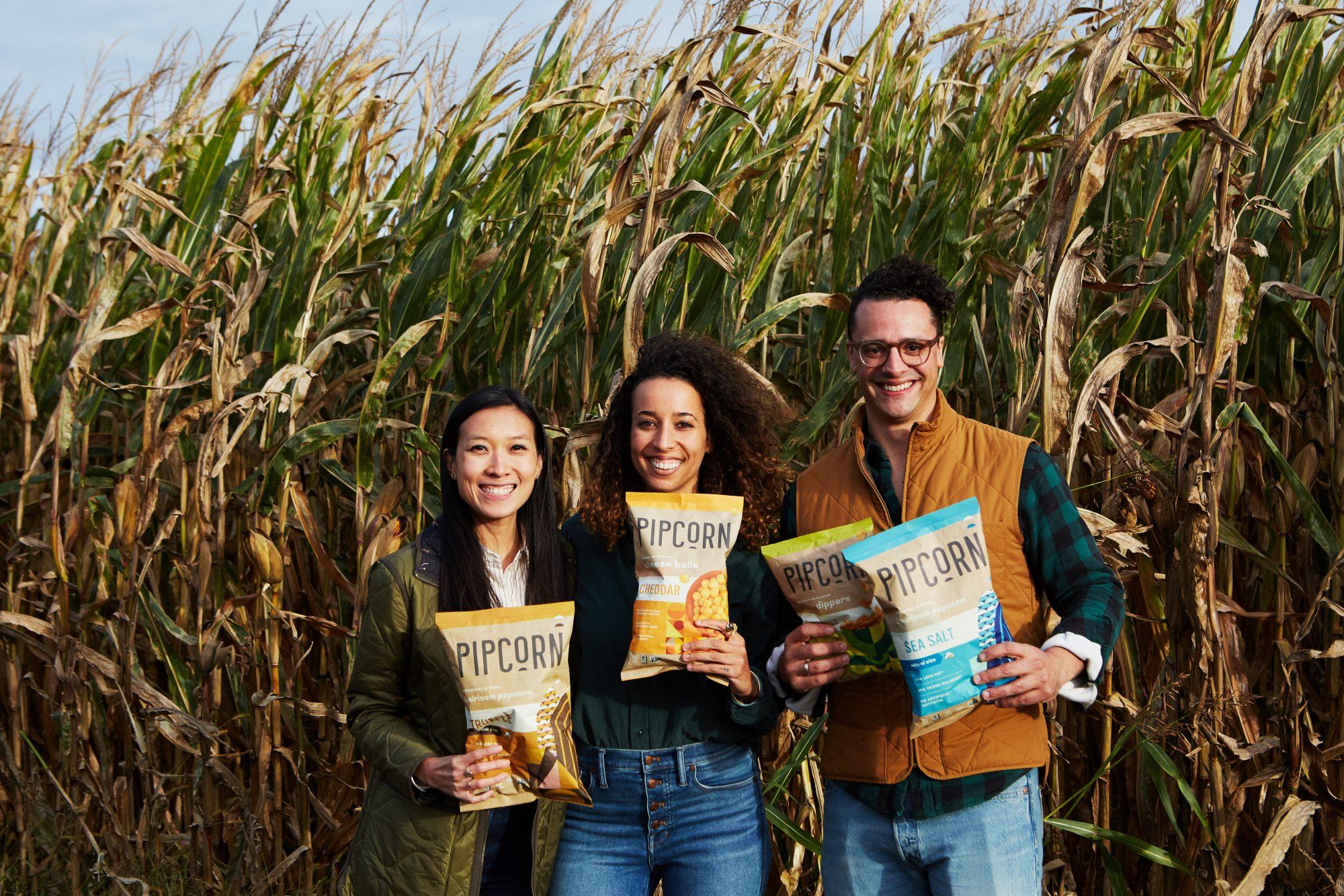 Pipcorn founders