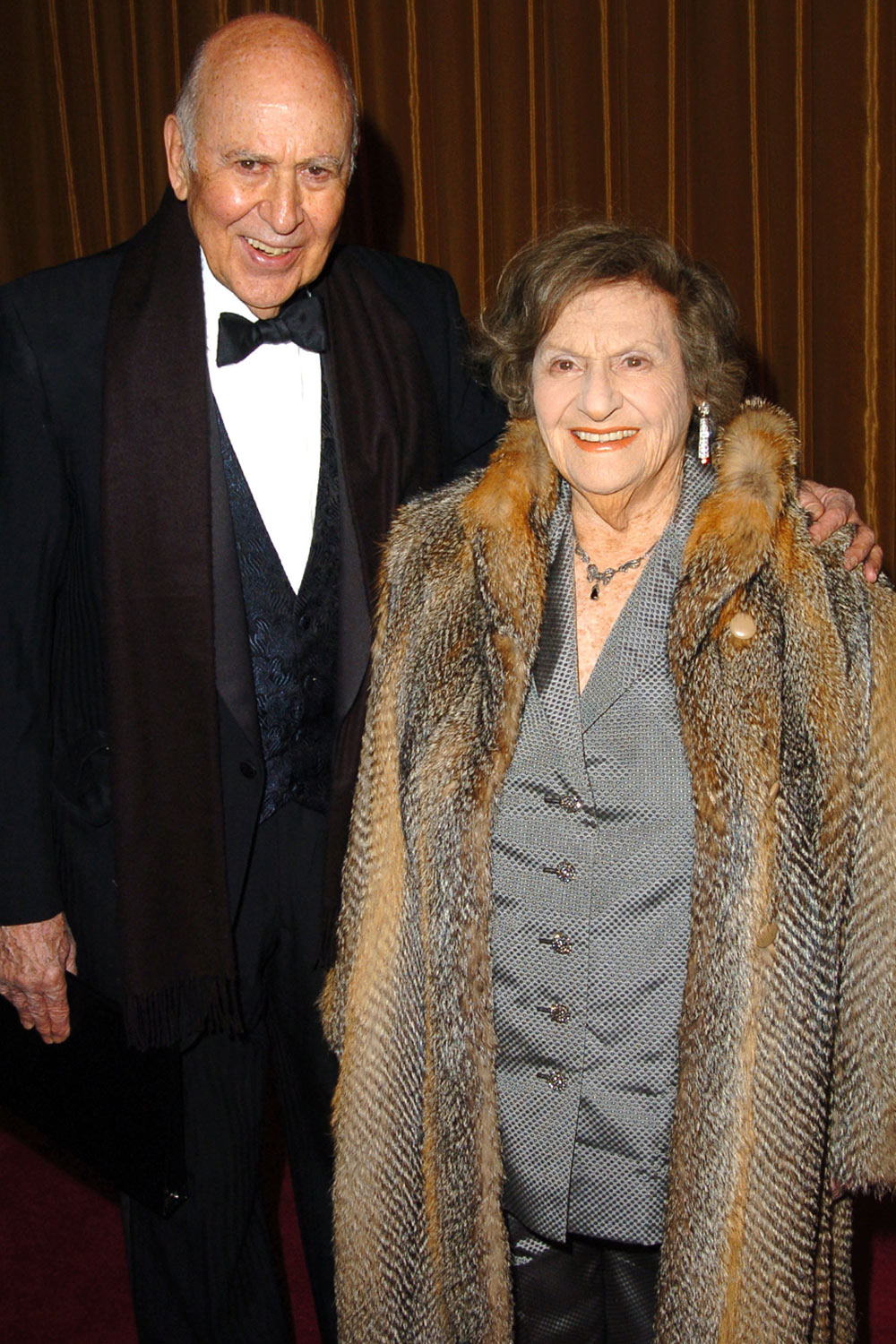 Carl Reiner and Wife