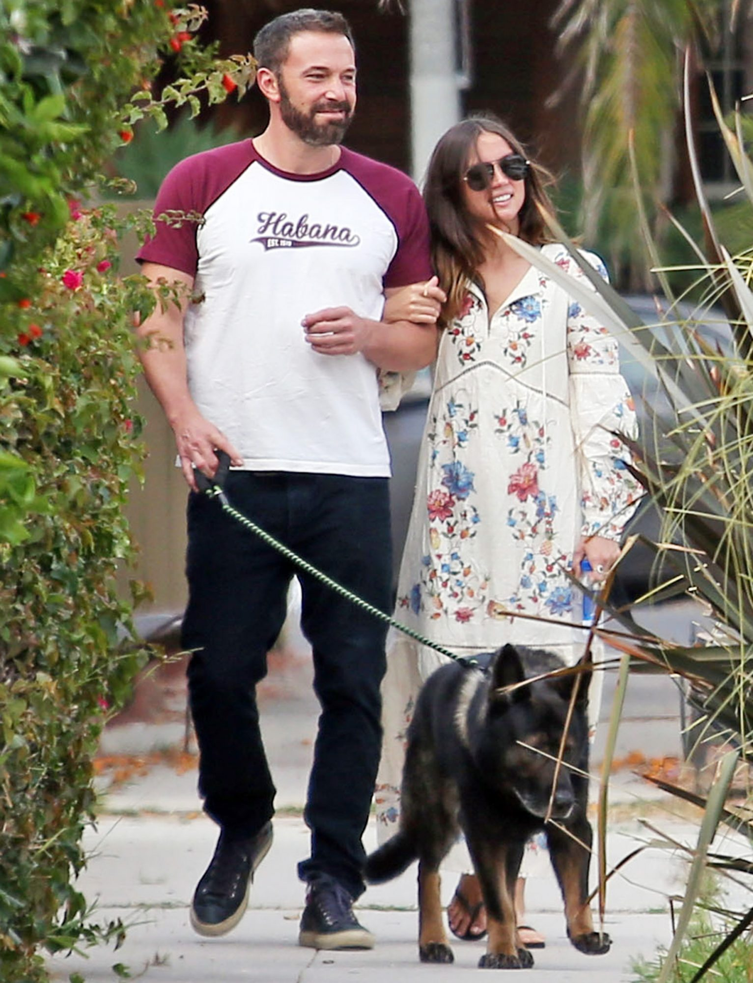 Ben Affleck and Ana de Armas out and about, Los Angeles, USA - 30 Jun 2020