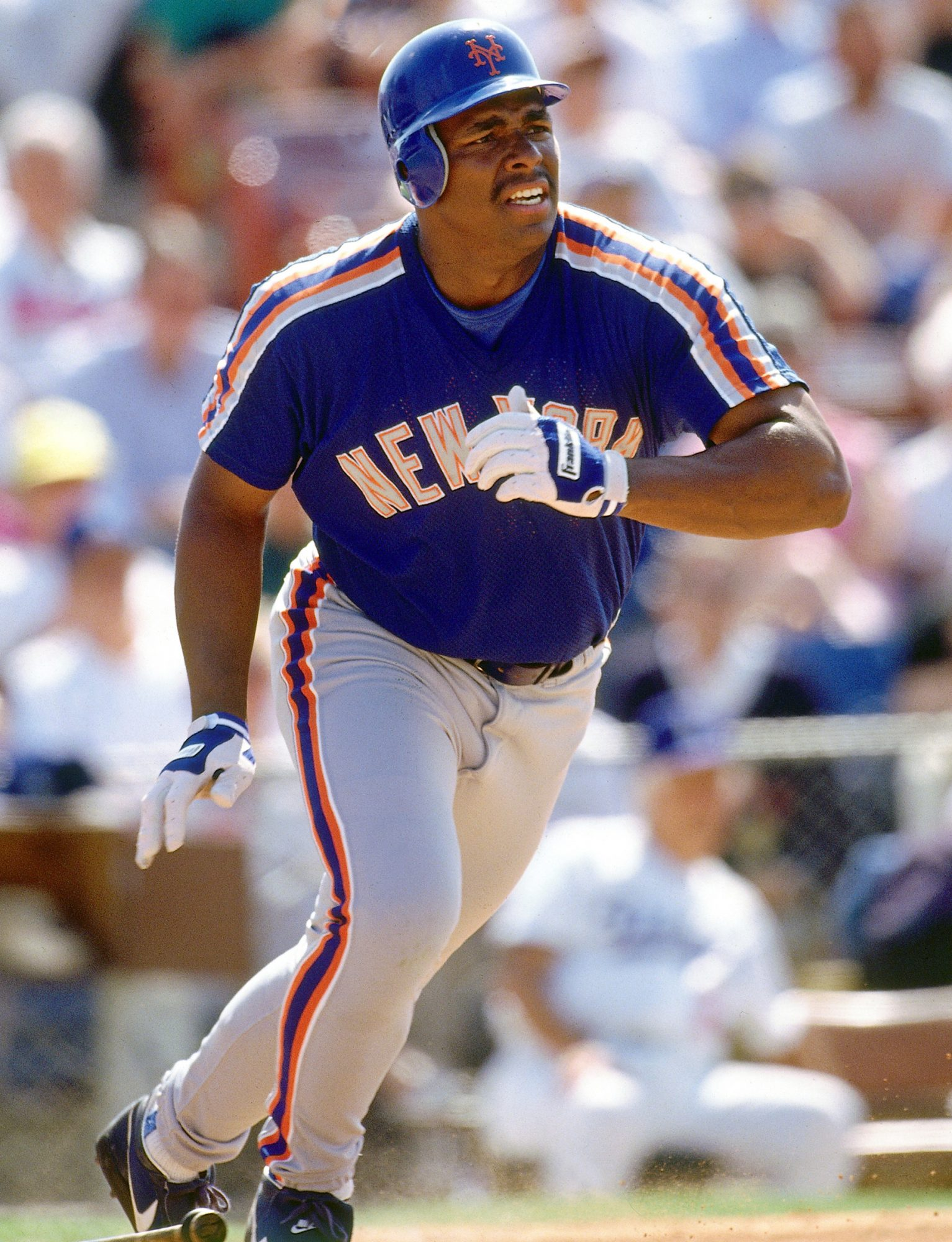 Outfielder Bobby Bonilla #25 of the New York Mets