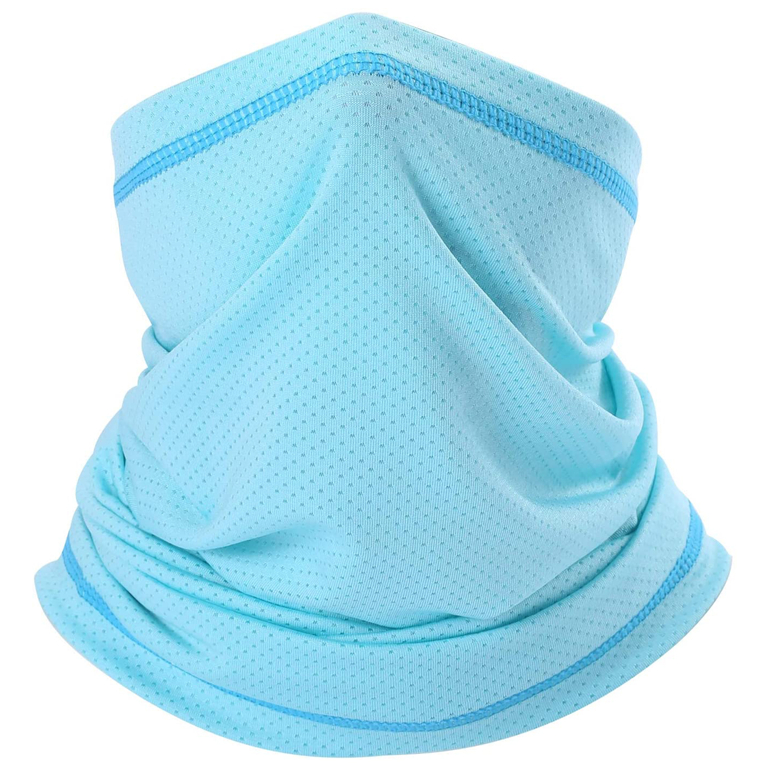 SUNMECI Summer Neck Gaiter Elastic Sun Protection Face Mouth Cover Breathable Headwrap for Fishing Motorcycle Cycling