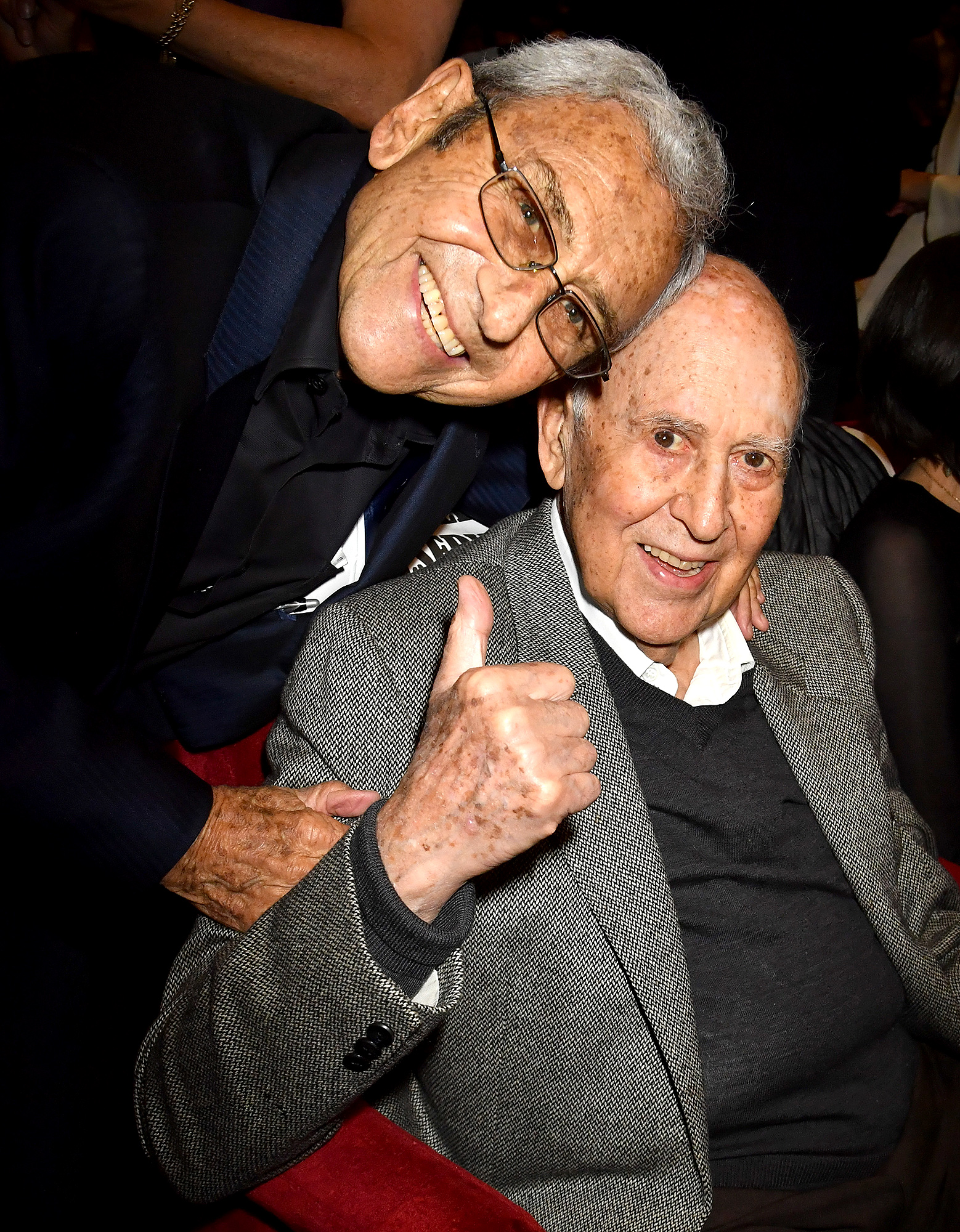 George Shapiro and Carl Reiner