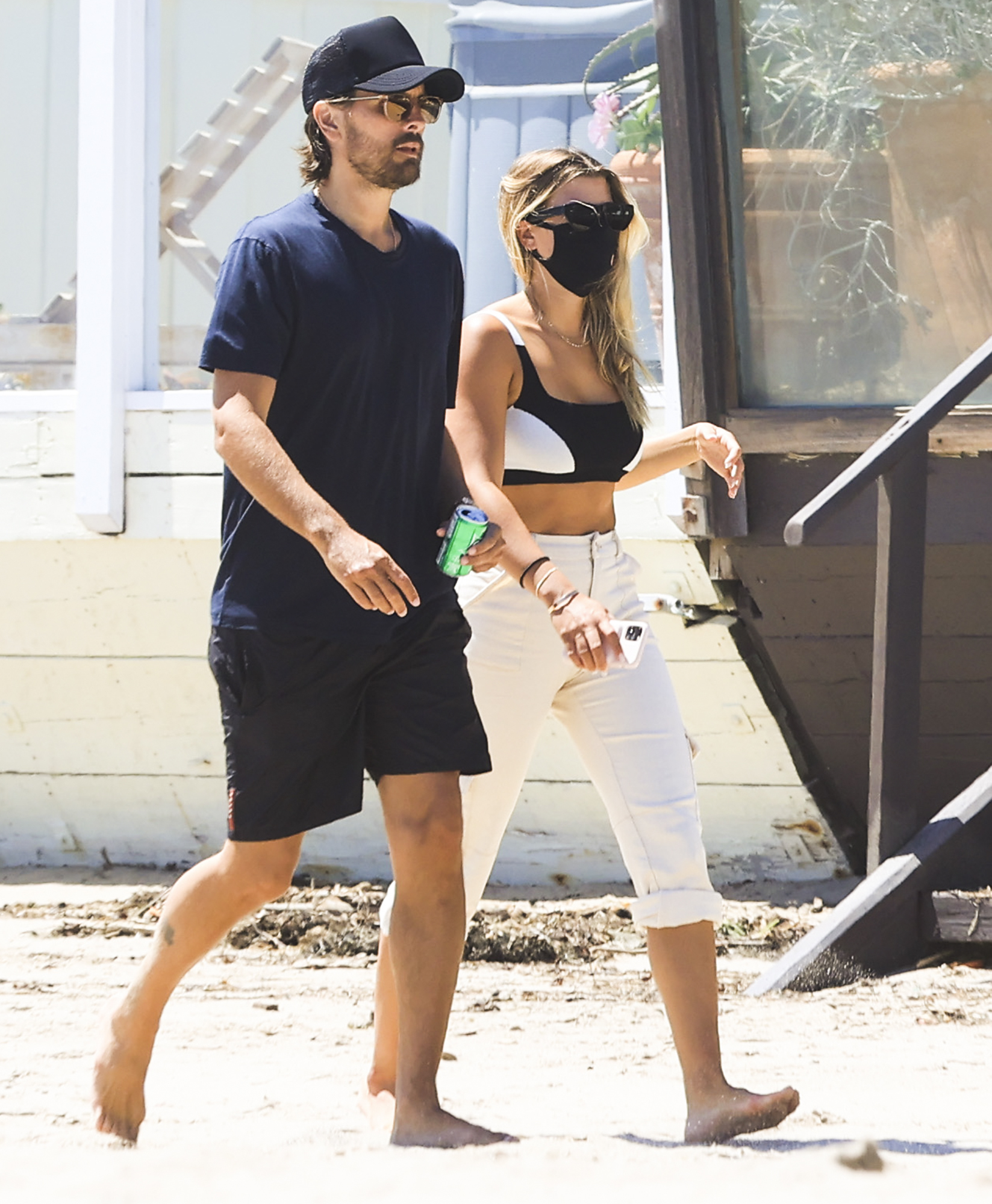 NO REUSE Scott Disick Sofia Richie