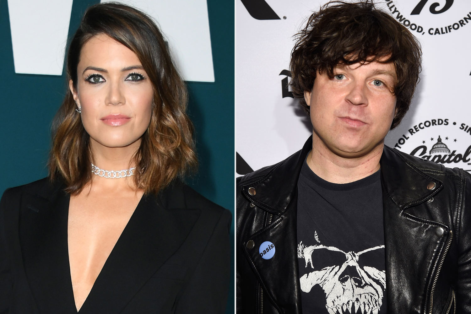 Mandy Moore and Ryan Adams
