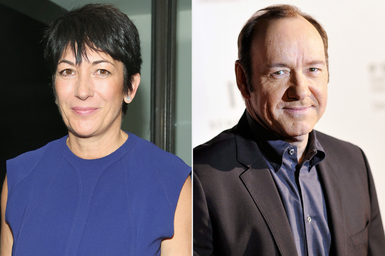 Why Kevin Spacey and Ghislaine Maxwell Sat in Queen Elizabeth and Prince Philip's Thrones