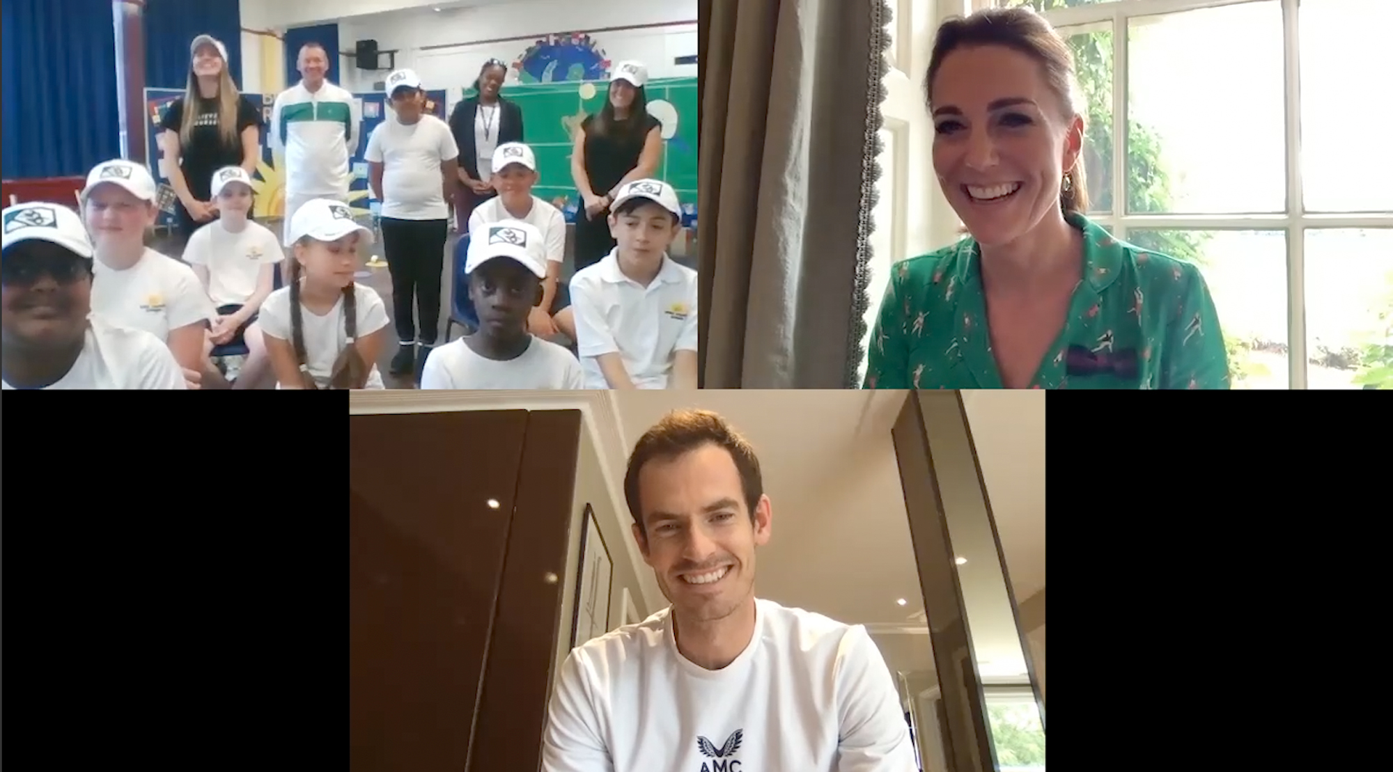 Kate Middleton; Andy Murray