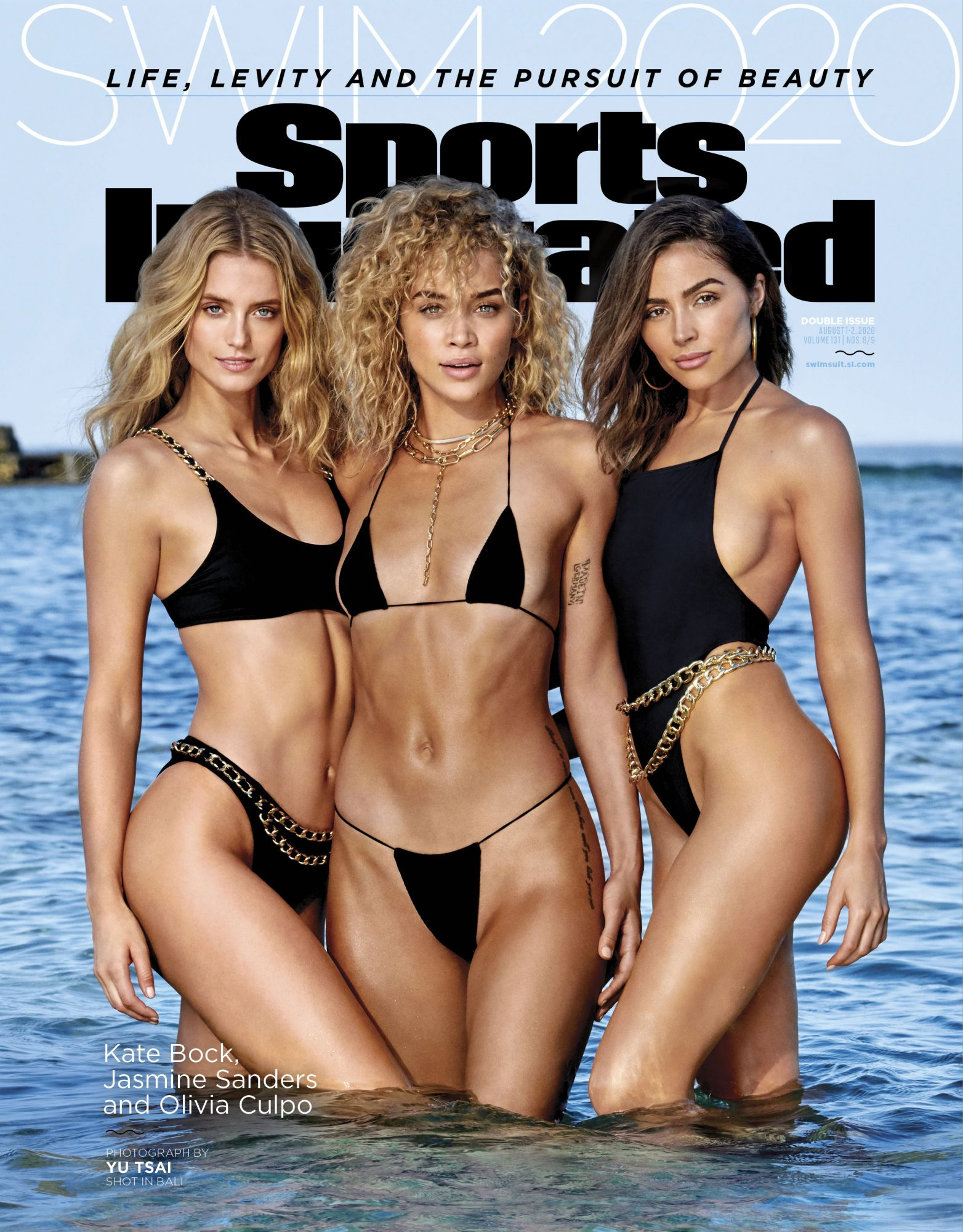Kate Brock, Jasmine Sanders and Olivia Culpo