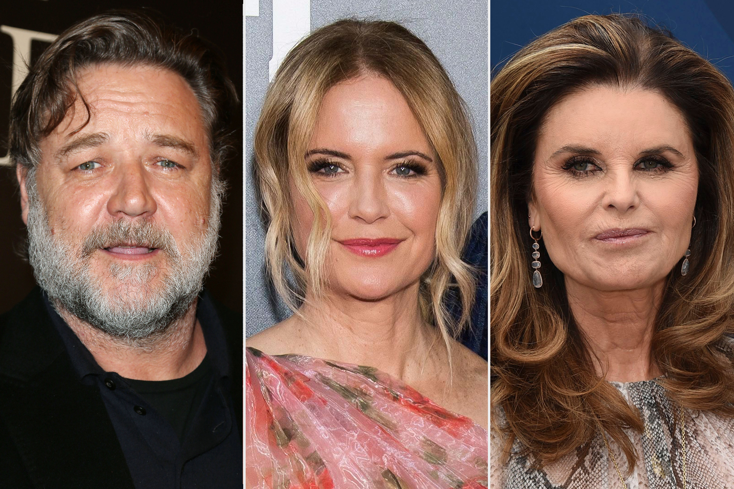Russell Crowe; Kelly Preston; Maria Shriver