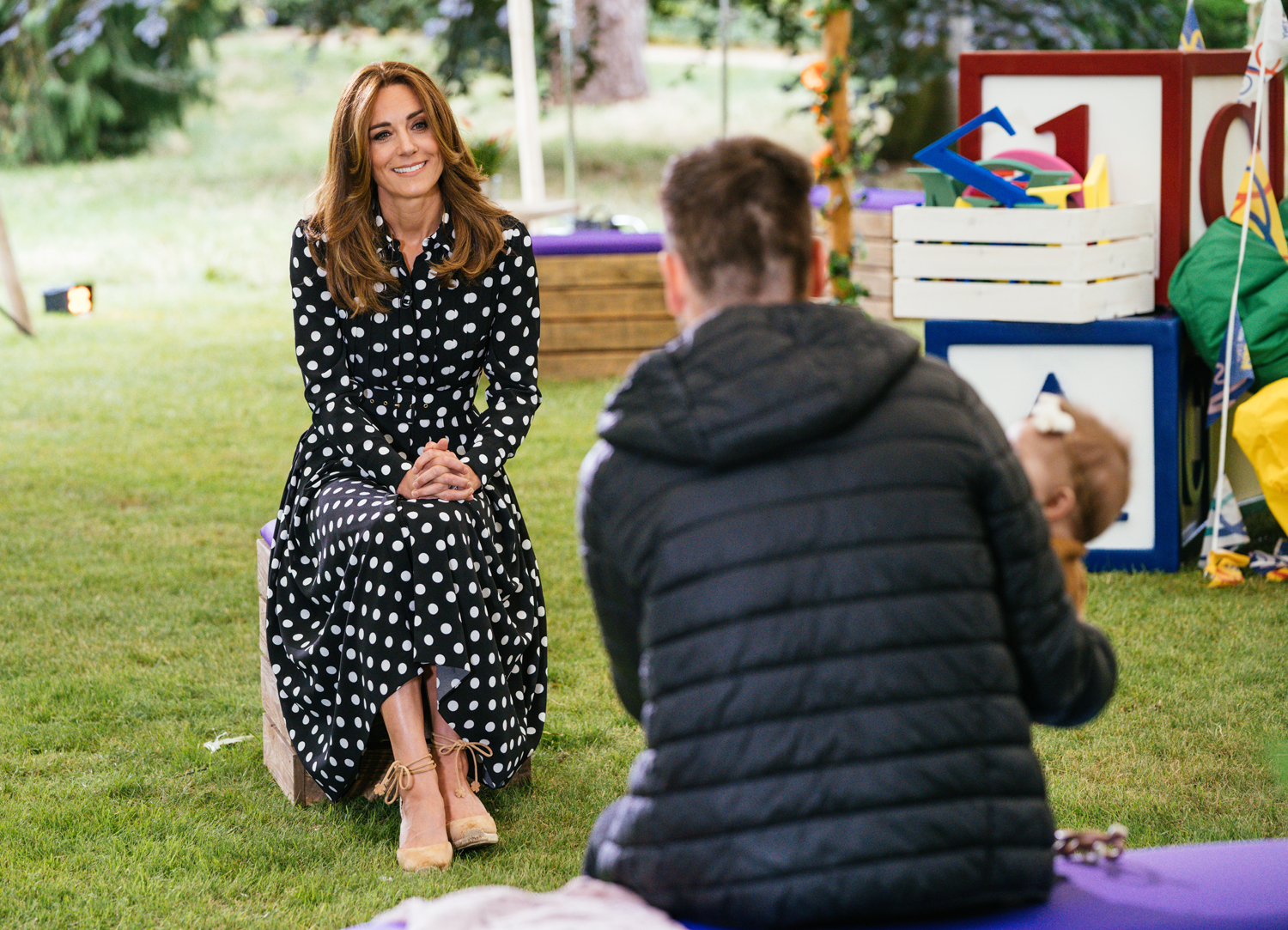 Kate Middleton 'Tiny Happy People'