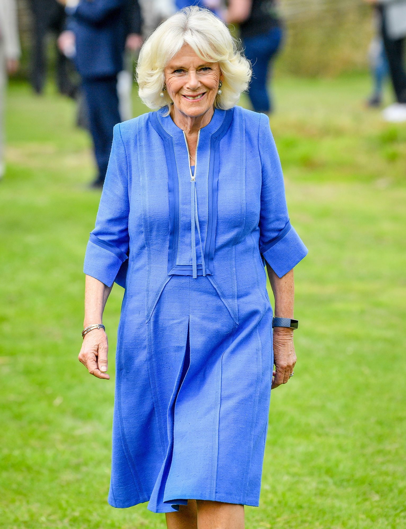 Camilla The Duchess Of Cornwall Undertakes Engagements In Wiltshire