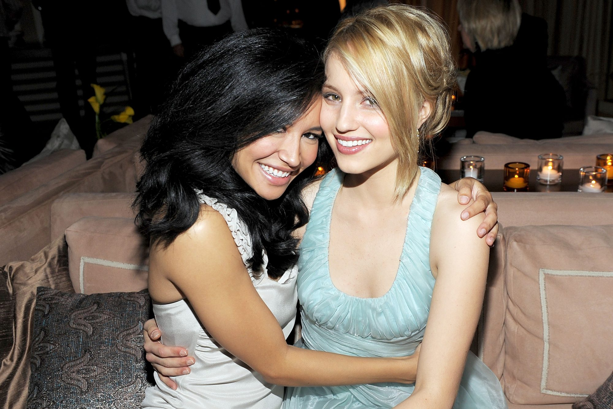 Naya Rivera and Dianna Agron
