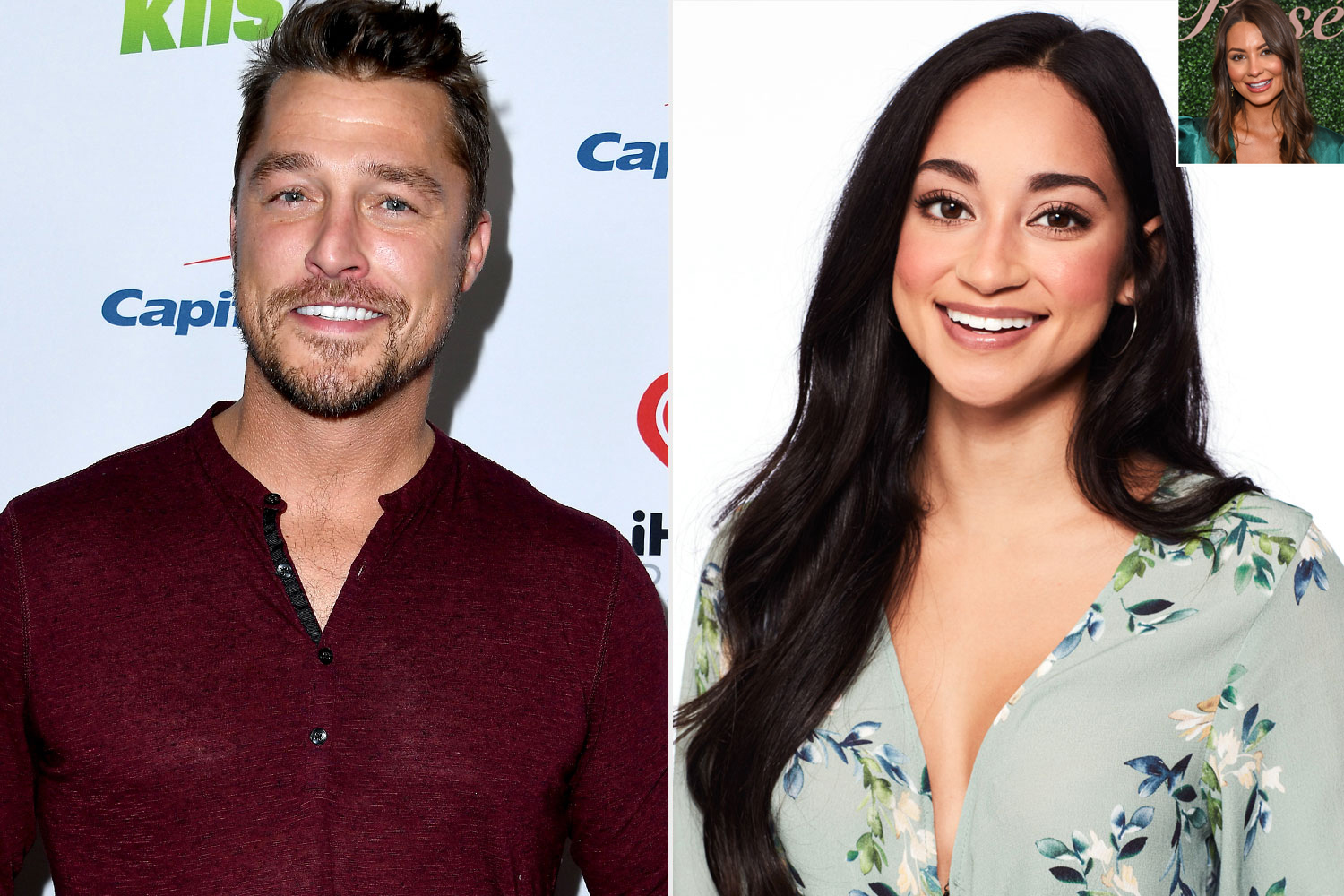 Chris Soules, Victoria Fuller; Kelley Flanagan
