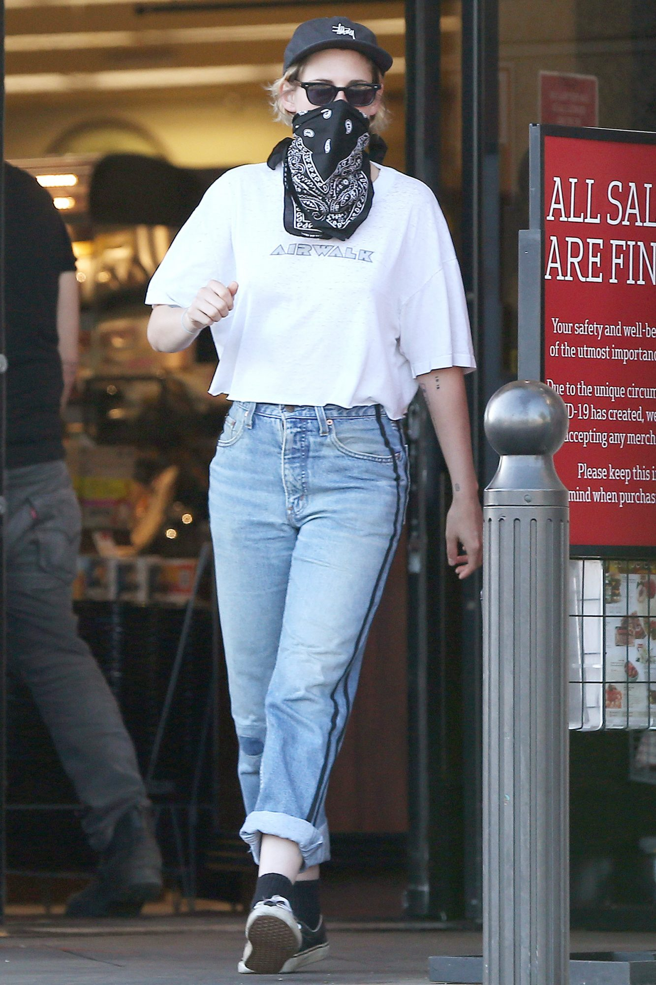 Kristen Stewart is Pictured Running Errands with a Friend in Los Angeles.