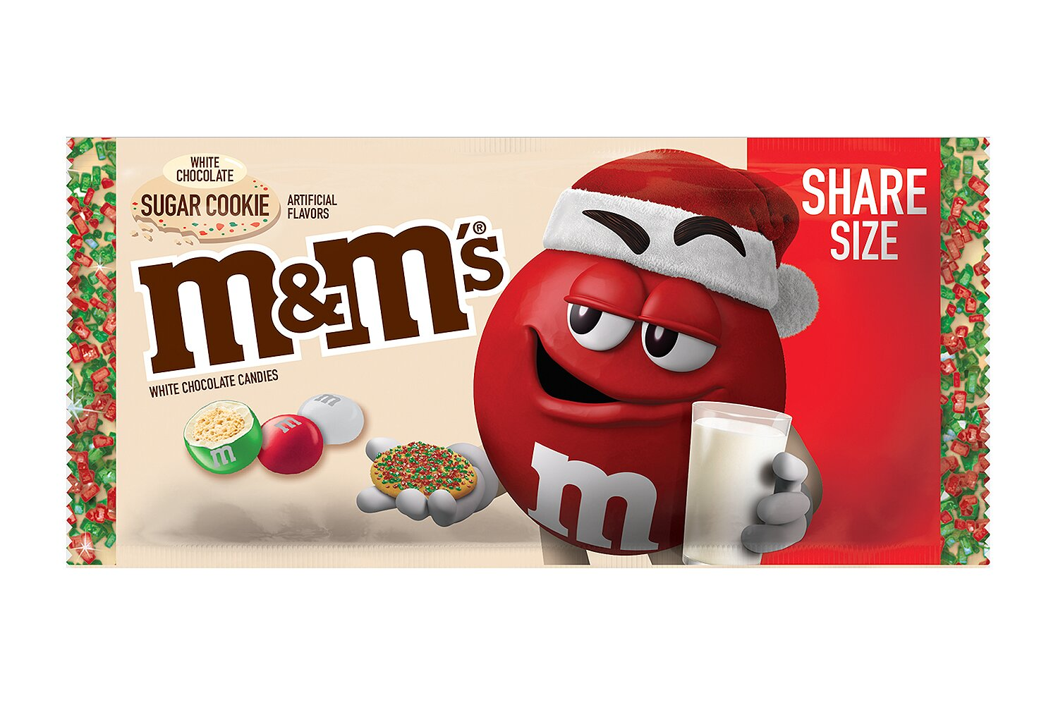 Christmas M&Ms 2020 M&M's Unveils New White Chocolate Sugar Cookie Flavor | PEOPLE.com