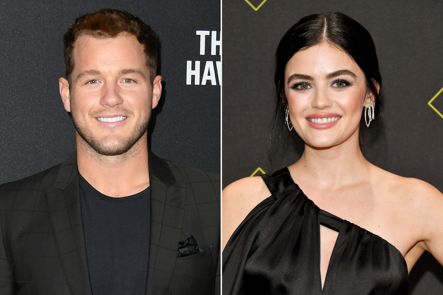 Colton Underwood; Lucy Hale