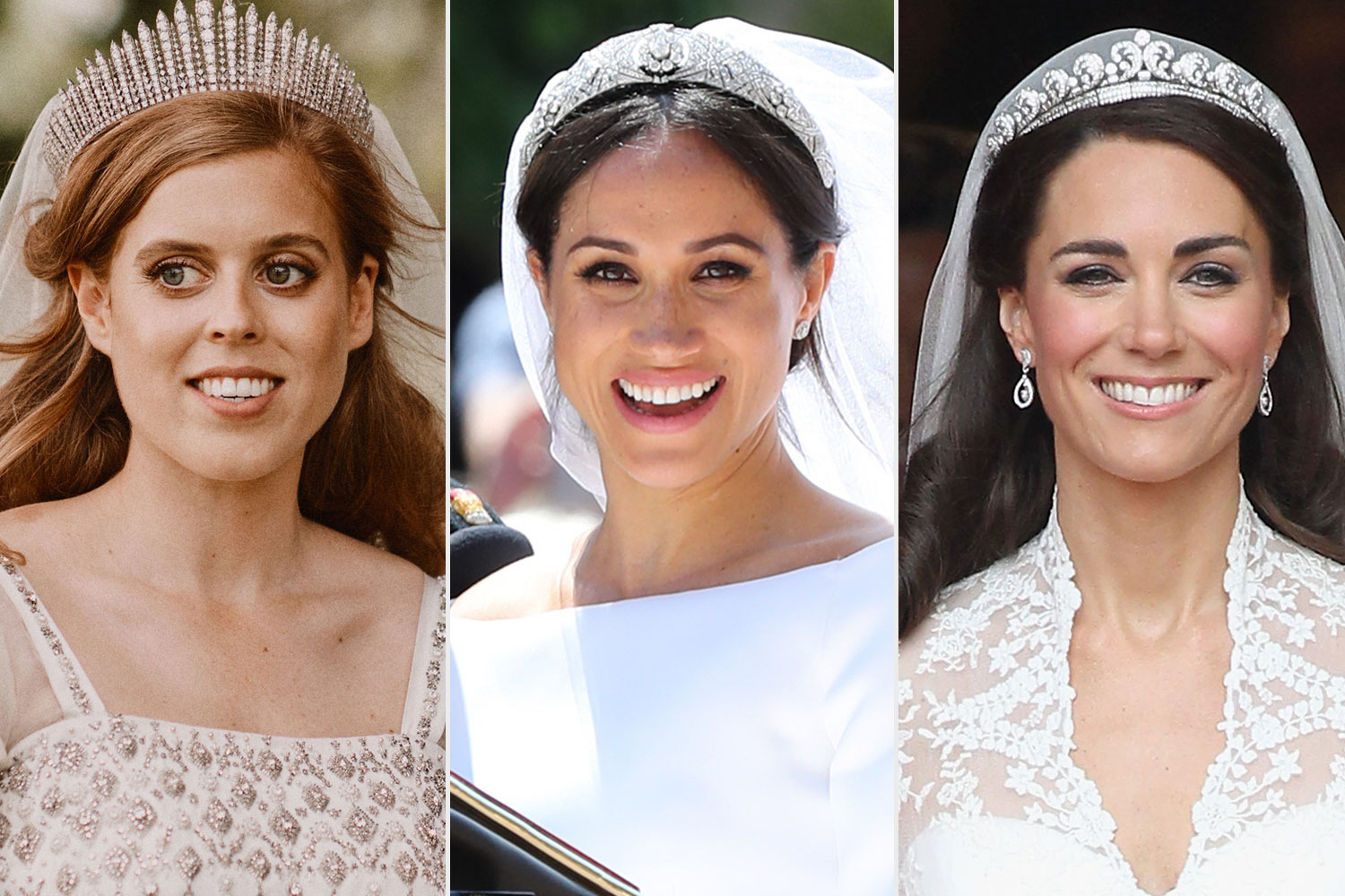 Every Tiara Worn at a Royal Wedding