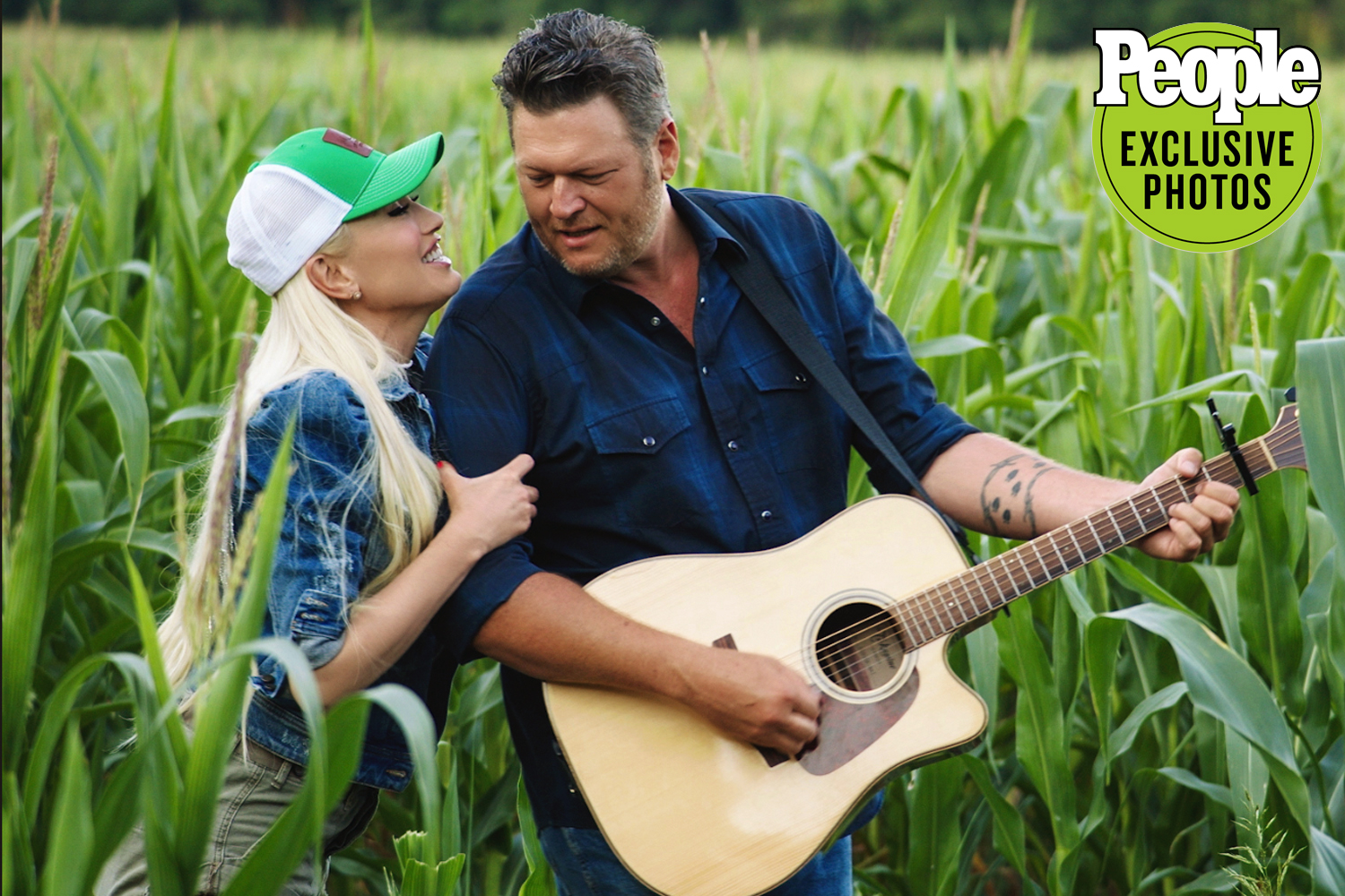 blake shelton and gwen stefani music video