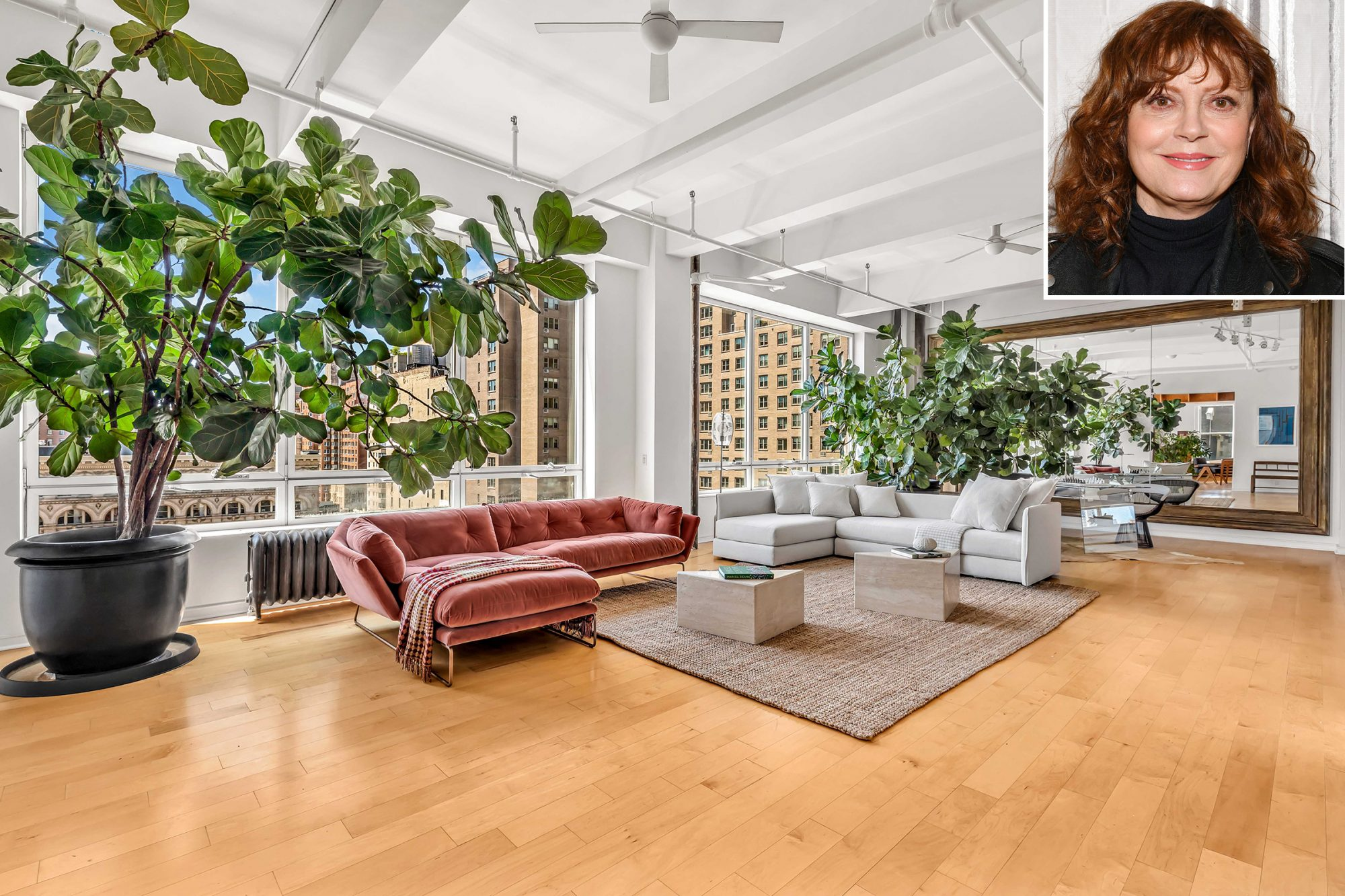 Susan Sarandon Selling NYC Apartment