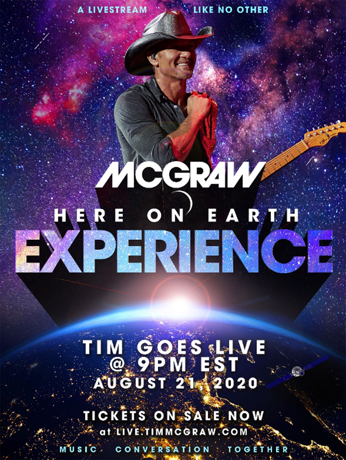 Tim McGraw Here on Earth Experience