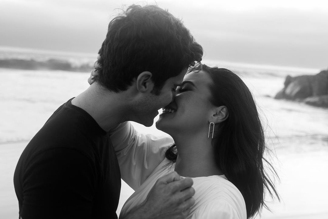 Demi Lovato and Max Ehrich Engagment