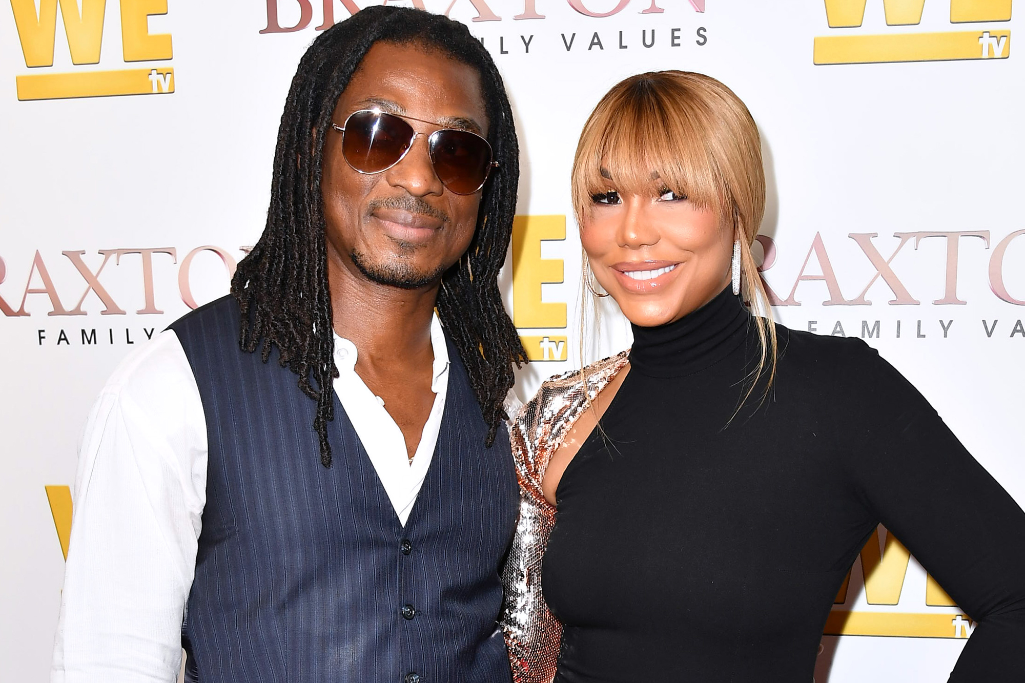 David Adefeso and Tamar Braxton