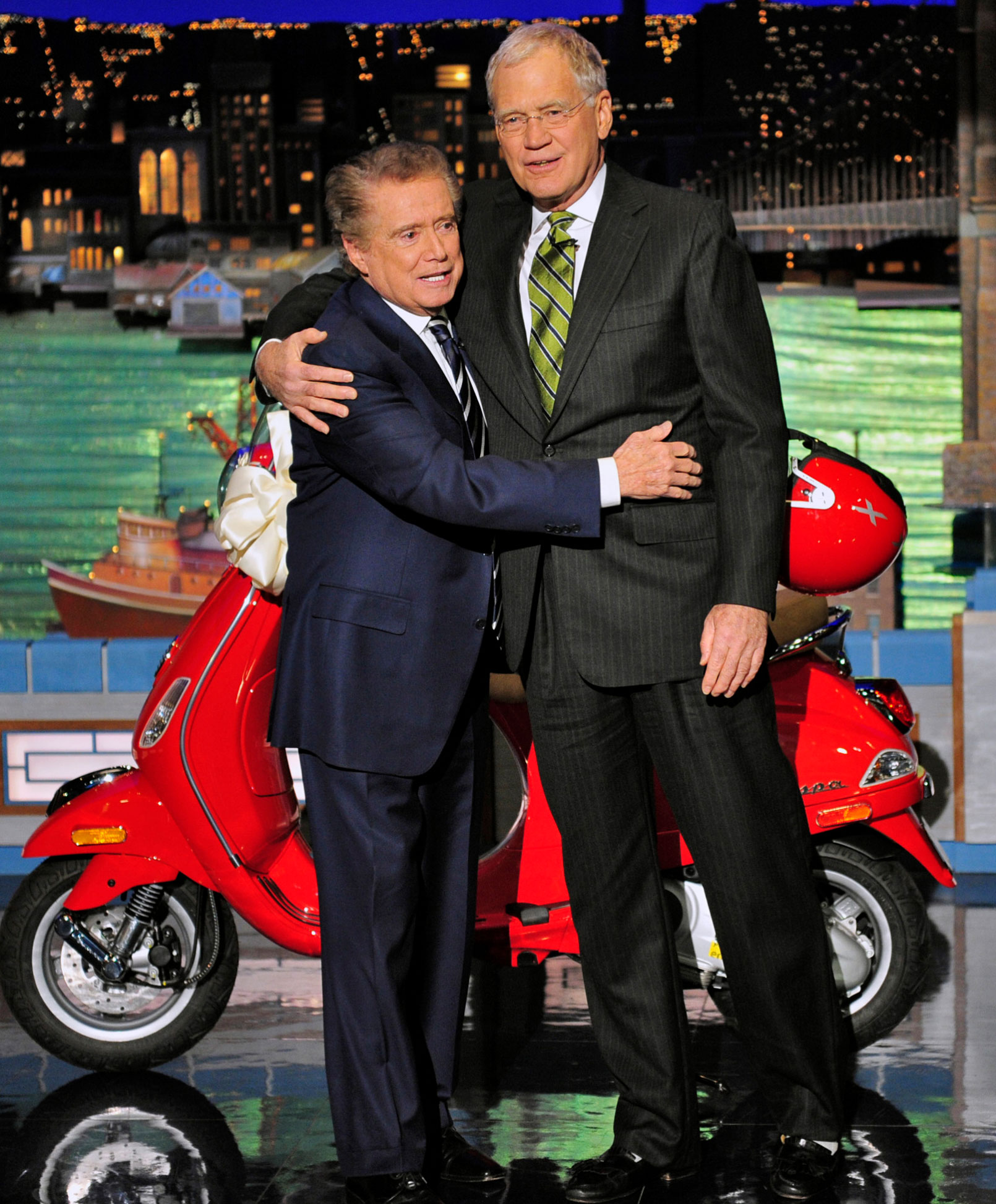 David Letterman, Regis Philbin