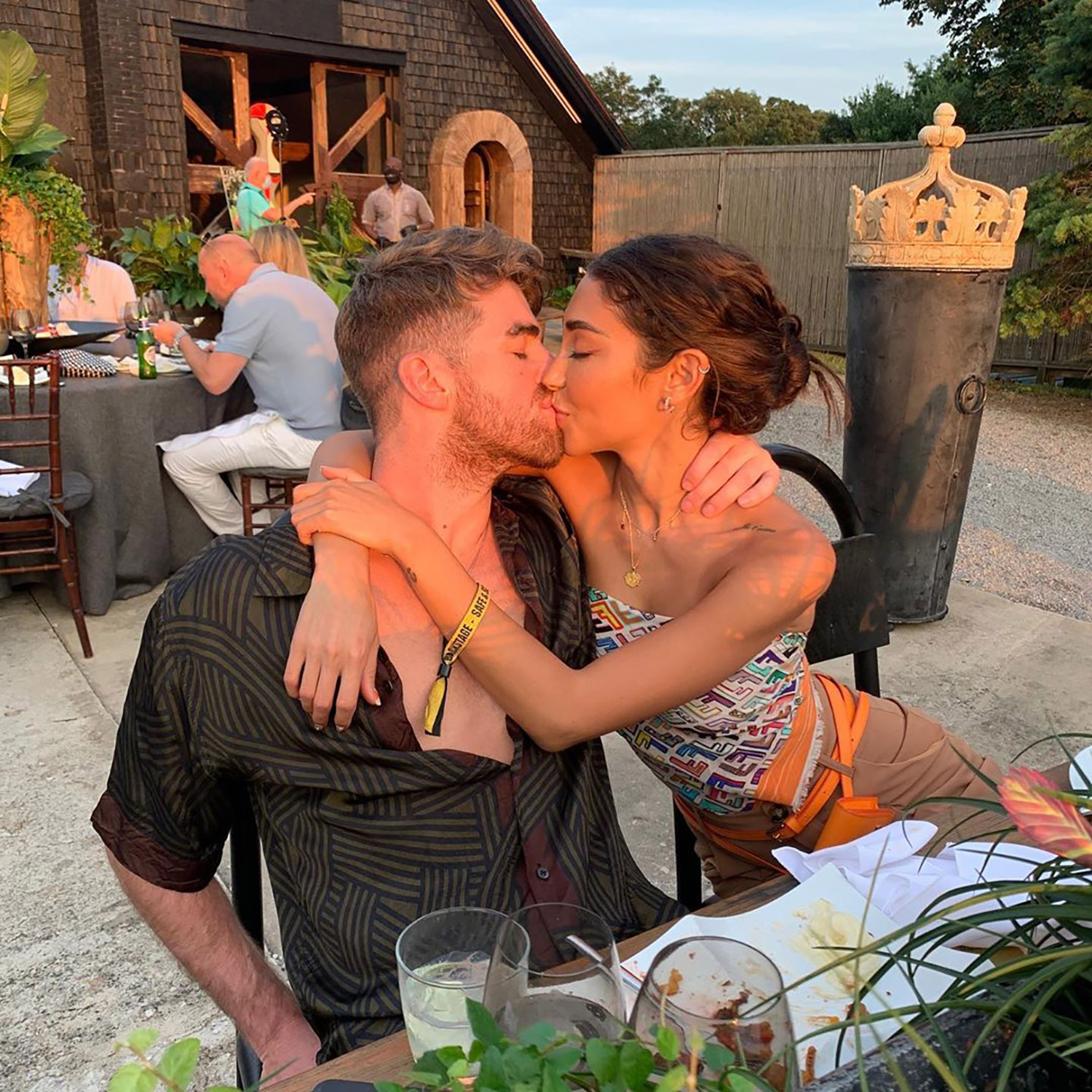 Chantel Jeffries and Drew Taggart
